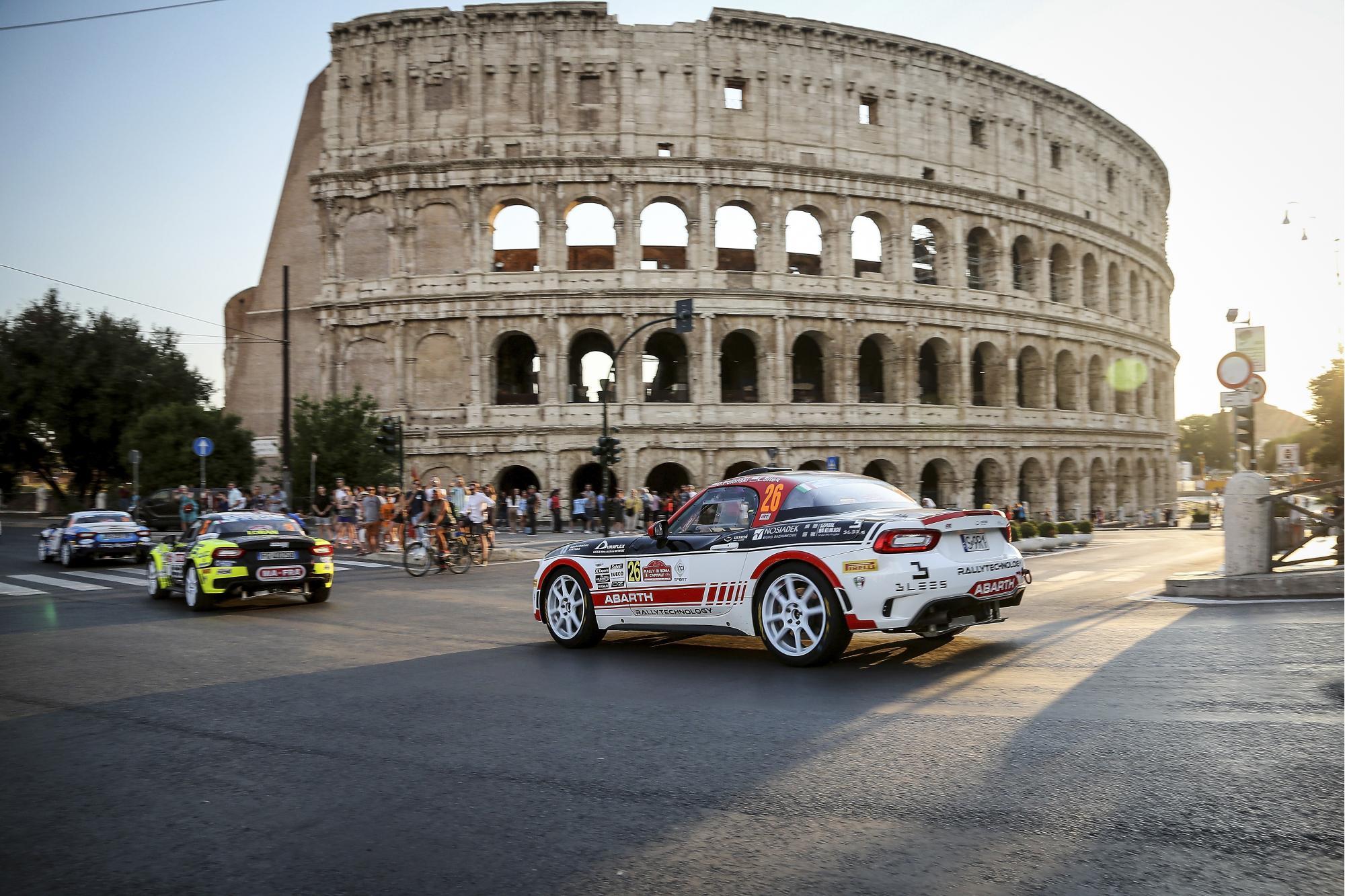 Επανεκκίνηση του Abarth Rally Cup και του ERC