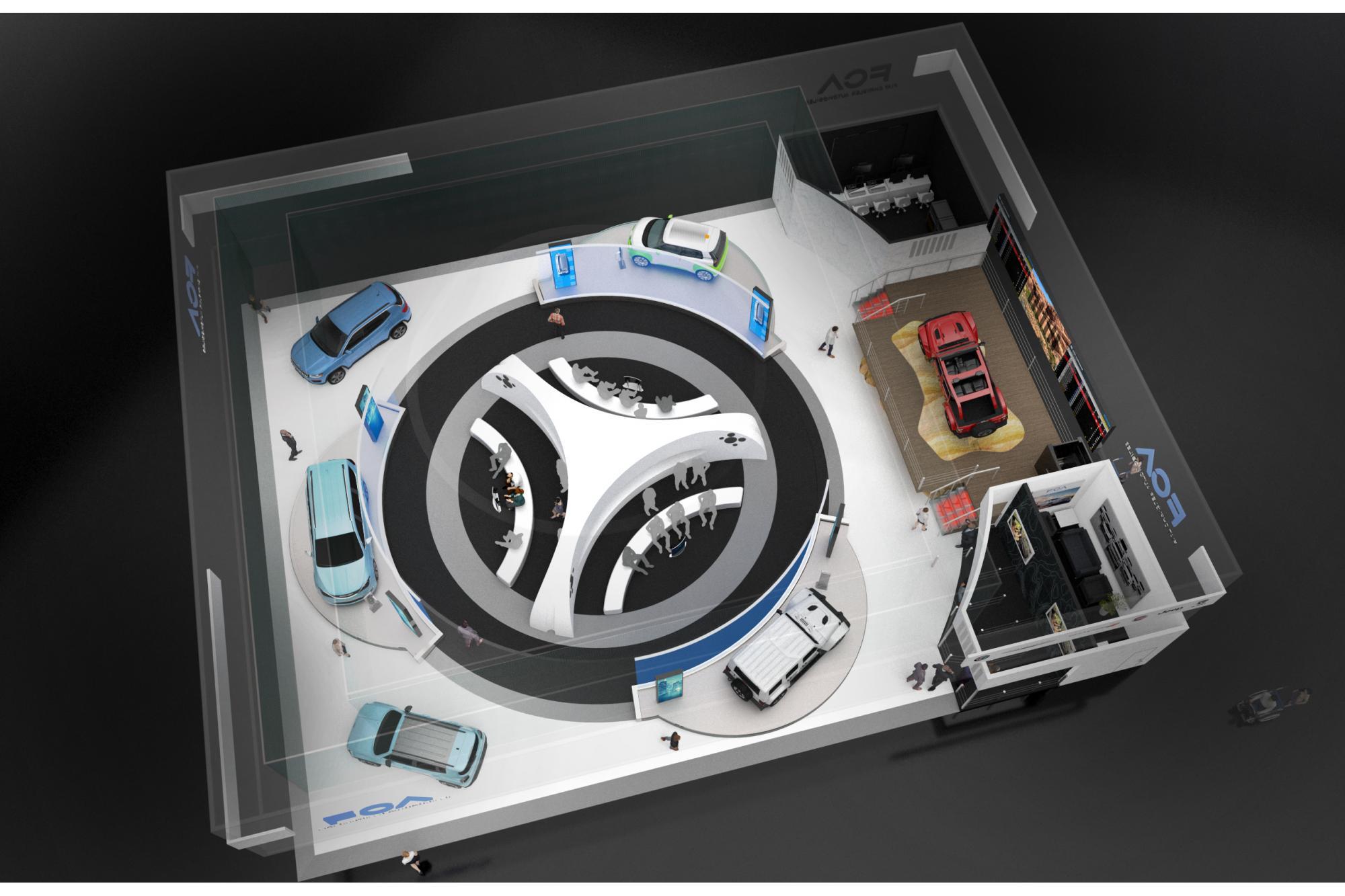 Η Fiat Chrysler Automobiles  στην έκθεση CES 2020 στις Η.Π.Α.