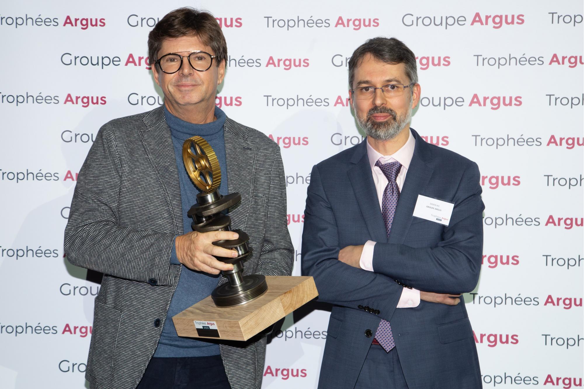 """To Fiat Concept Centoventi κατακτά το Ειδικό Βραβείο των Κριτών στο θεσμό """"Trophées Argus 2020"""""""