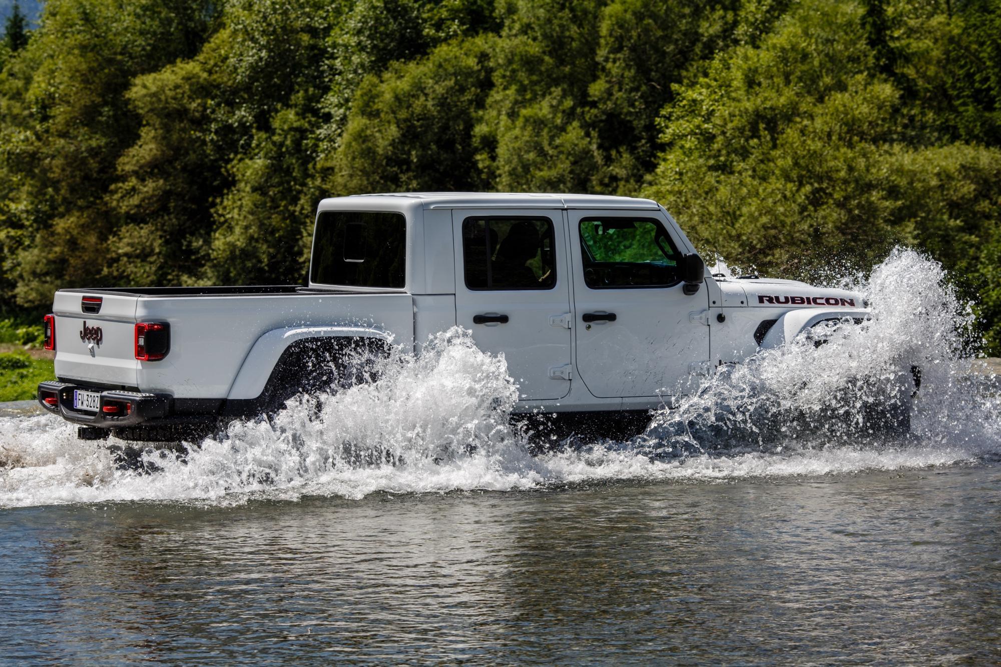 To Jeep Gladiator κατακτά τον τίτλο του πιο ικανού 4x4 Pickup