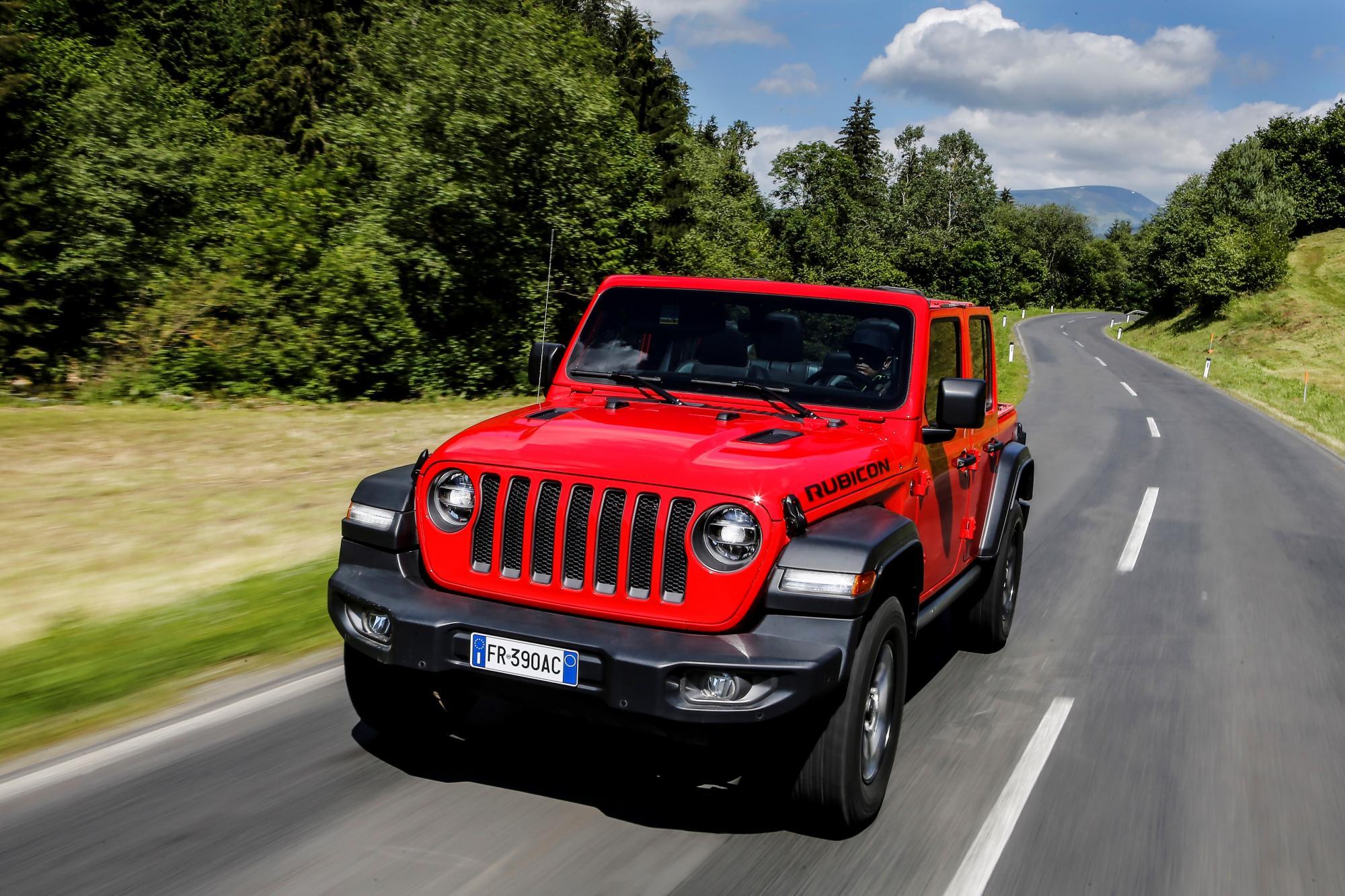 Νέο σύστημα αυτόνομου φρεναρίσματος από την Jeep