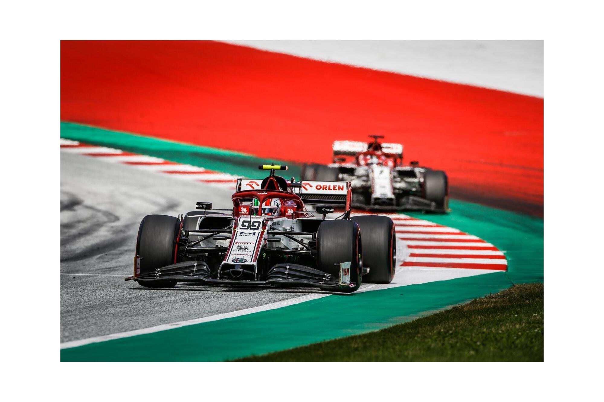 H Alfa Romeo Racing Orlen στο Grand Prix της Ουγγαρίας