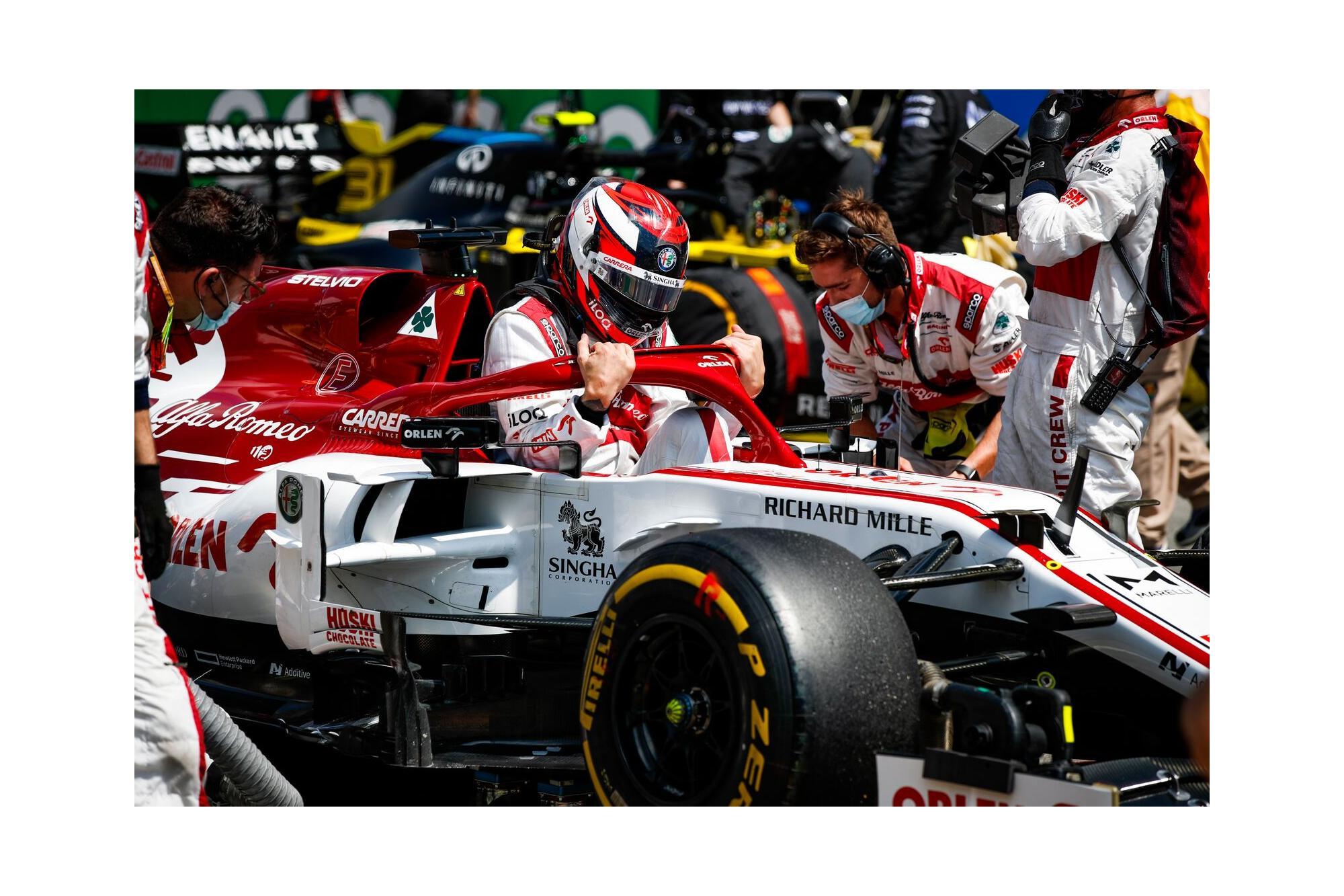 H Alfa Romeo Racing Orlen στο Grand Prix του Βελγίου