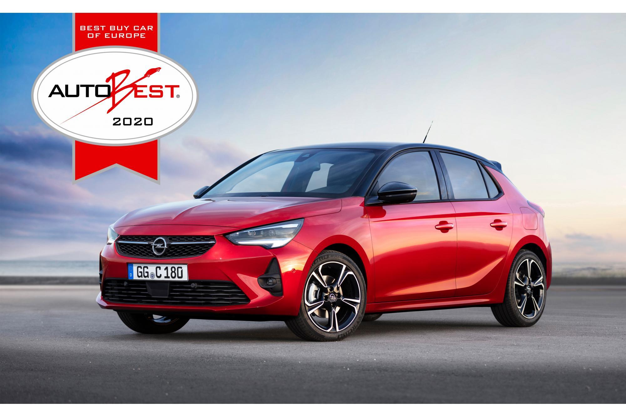 Τα Νέα Opel Corsa και Corsa-e Απέσπασαν το Βραβείο AUTOBEST