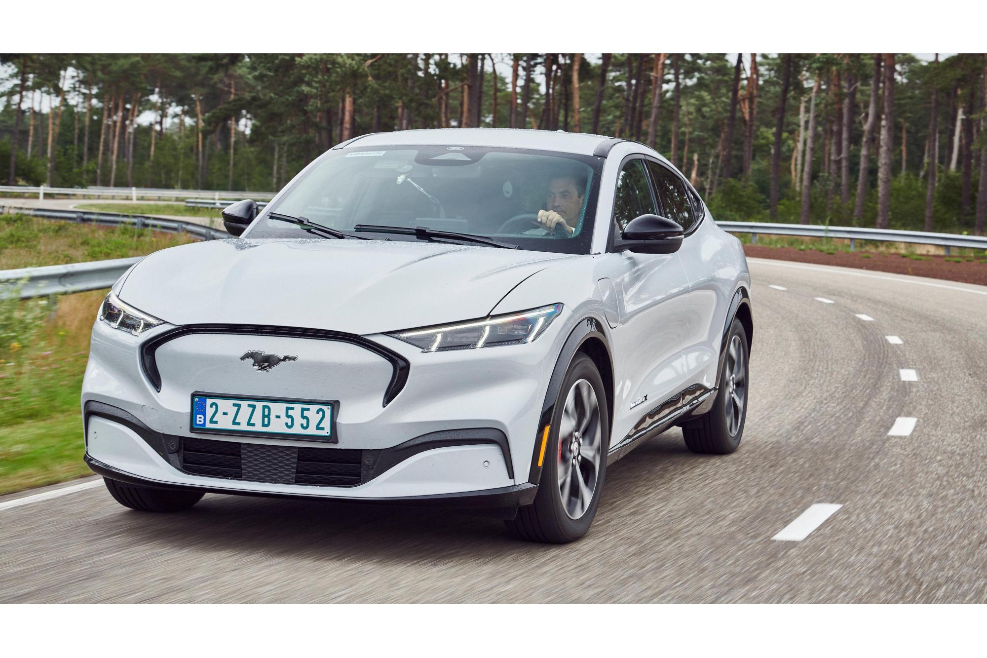 Δοκιμές στη Νορβηγία με την Mustang Mach-E