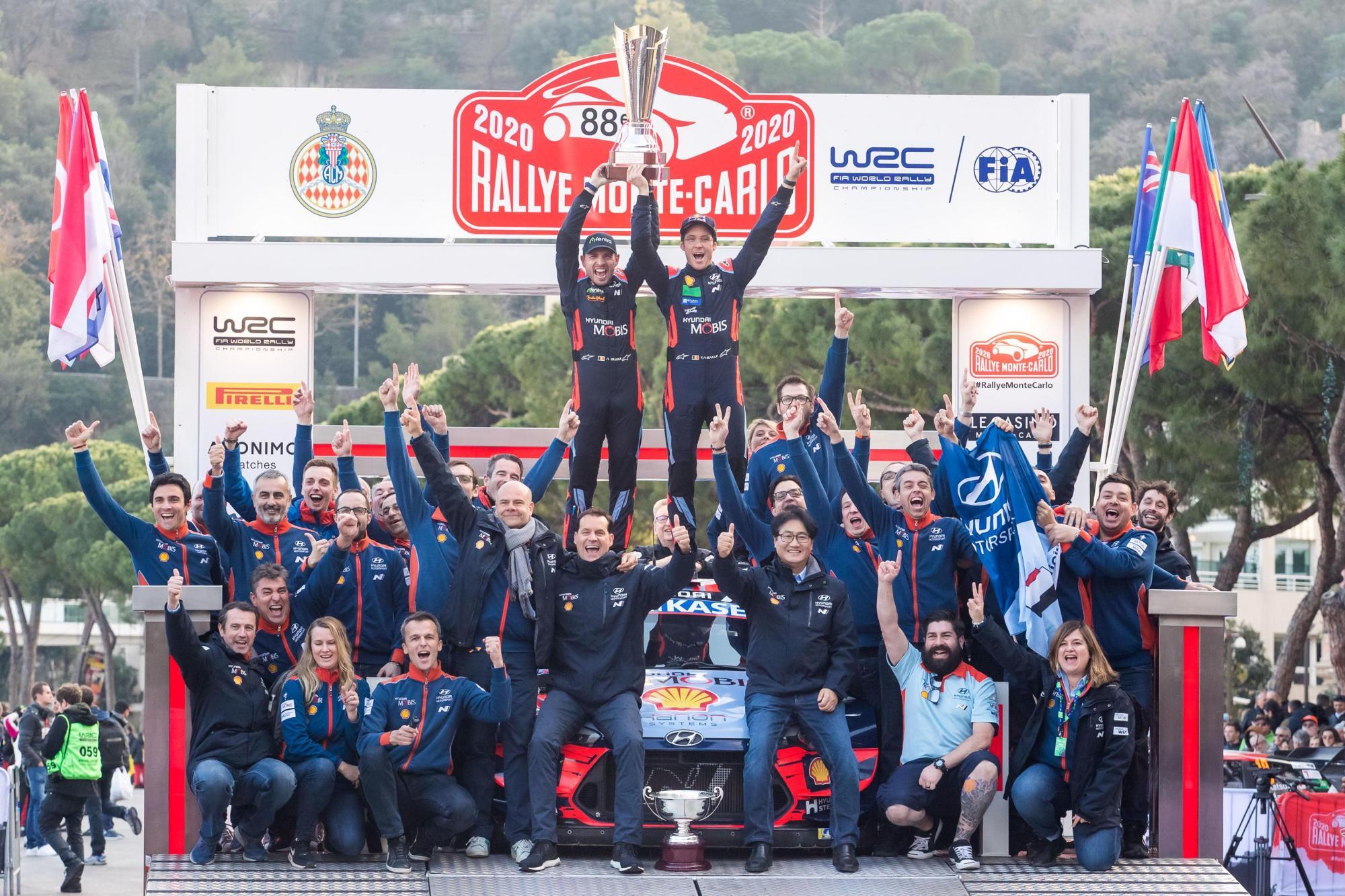 Πρωτιά για τη Hyundai στο Rally Monte-Carlo