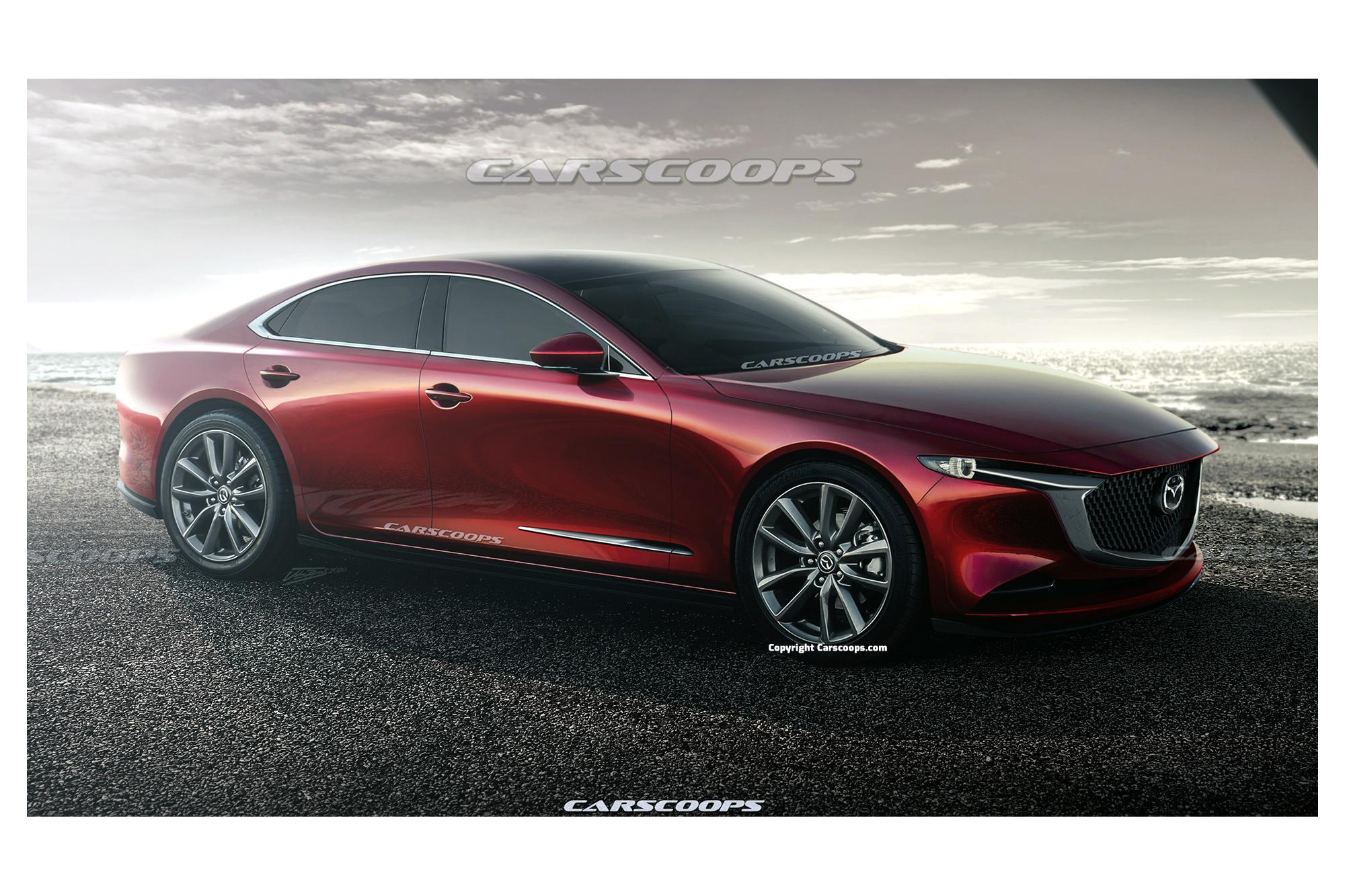 Θα είναι πισωκίνητο το νέο Mazda 6;