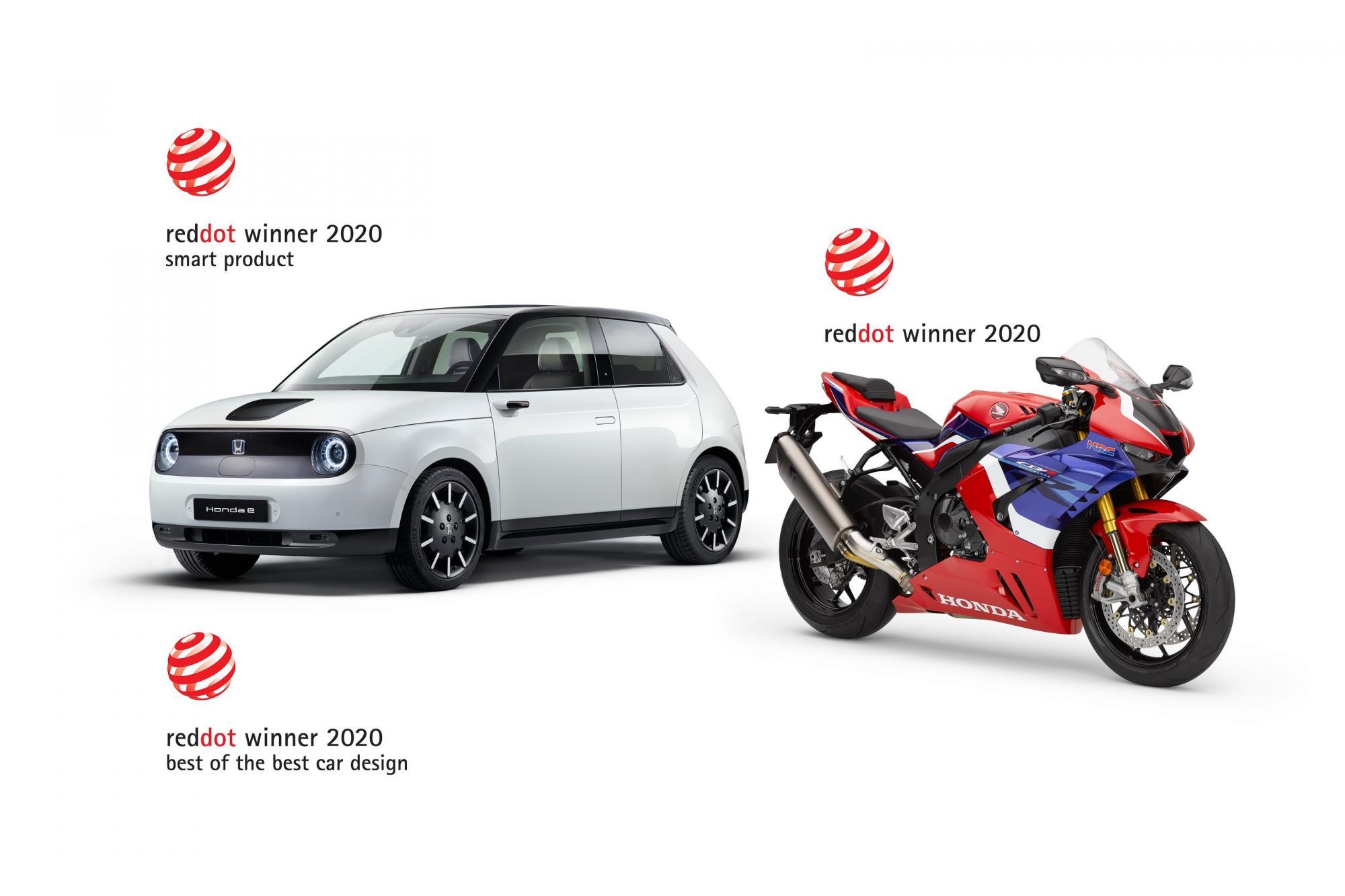 Τρία βραβεία Red Dot για την Honda