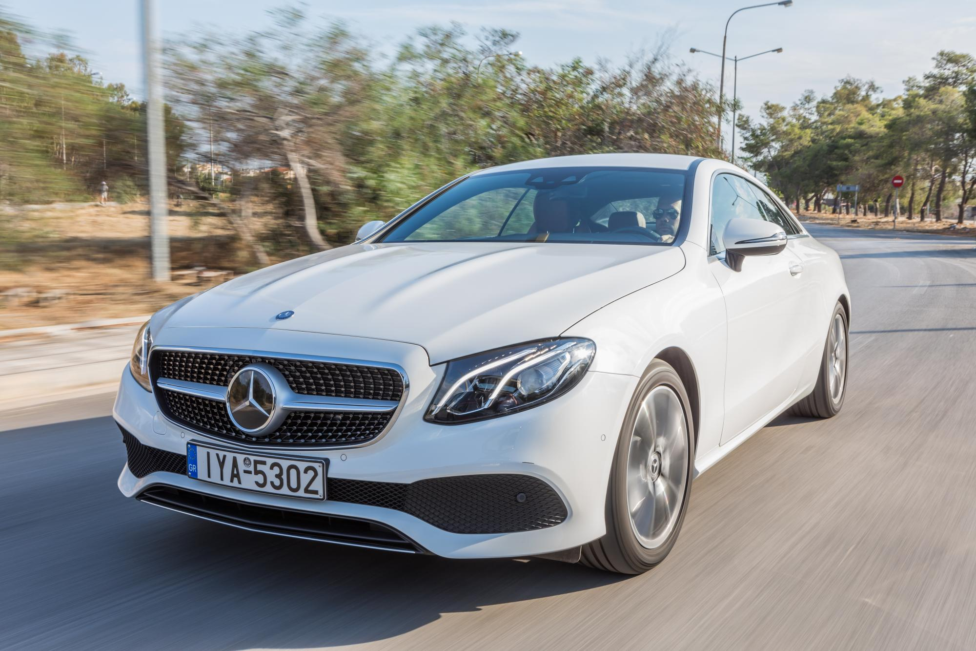 Mercedes-Benz E-Coupe 220d 9G-Tronic 194Ps