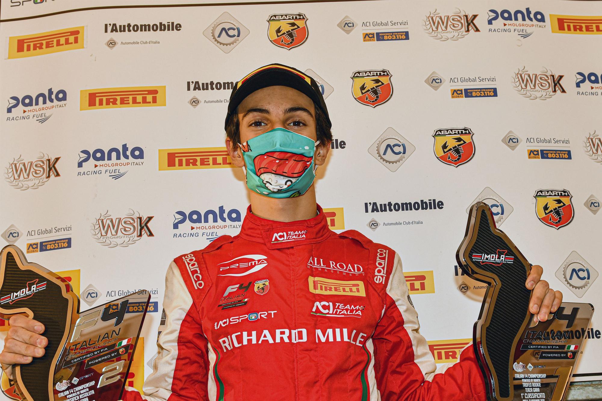 O Πρωταθλητής Gabriele Minì, εξιστορεί την πορεία του