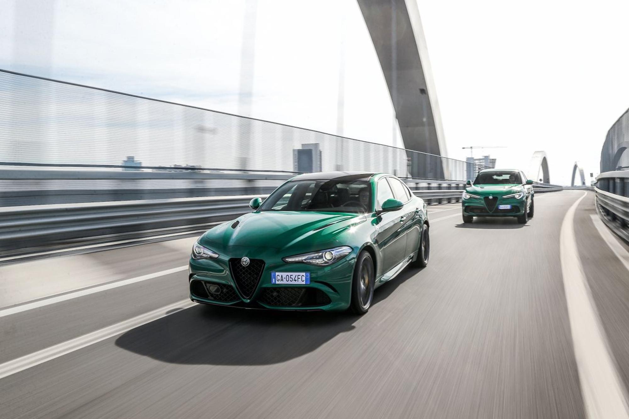 Δημοφιλέστερες από ποτέ οι Alfa Romeo Giulia και Stelvio στην Ελληνική αγορά