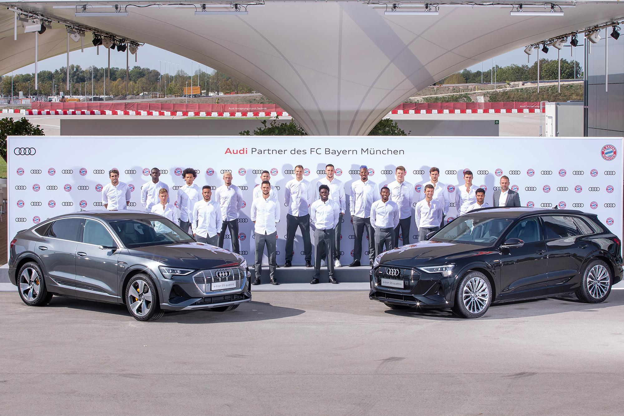 Η Audi εξηλεκτρίζει τη Μπάγερν Μονάχου