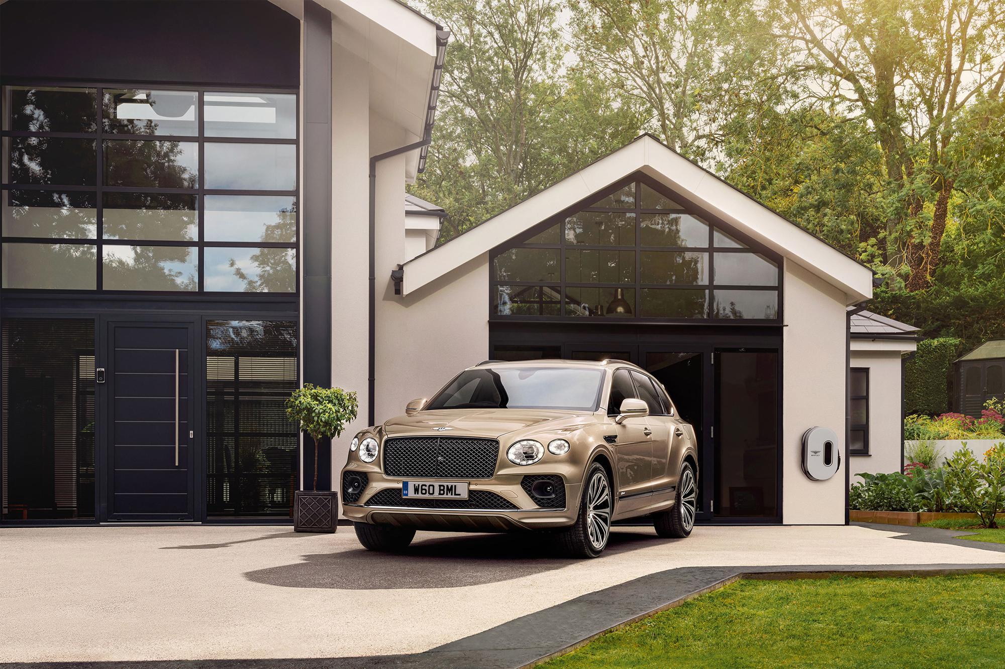 Πρόγραμμα ανακυκλώσιμων ηλεκτροκινητήρων για την Bentley