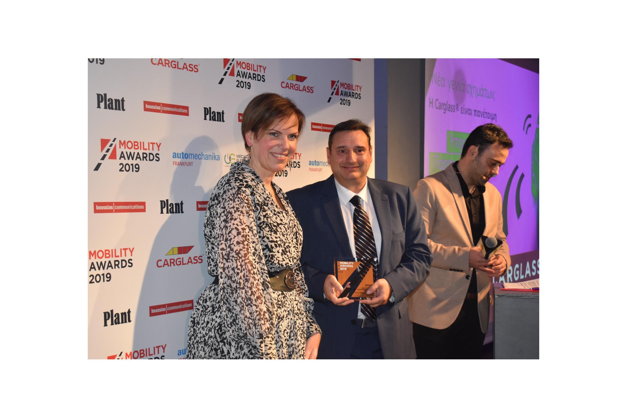 Διάκριση για την Carglass στα Mobility Awards