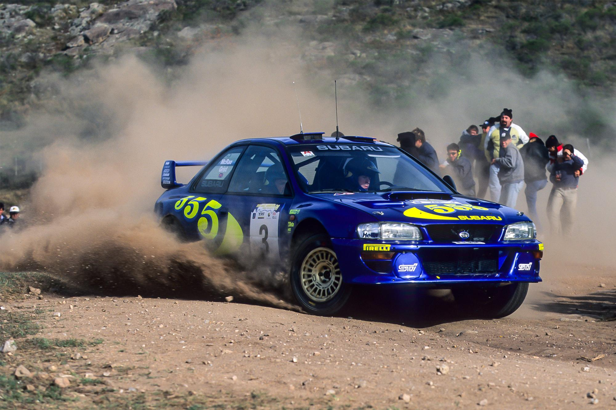 Flat out, η ζωή του Colin McRae