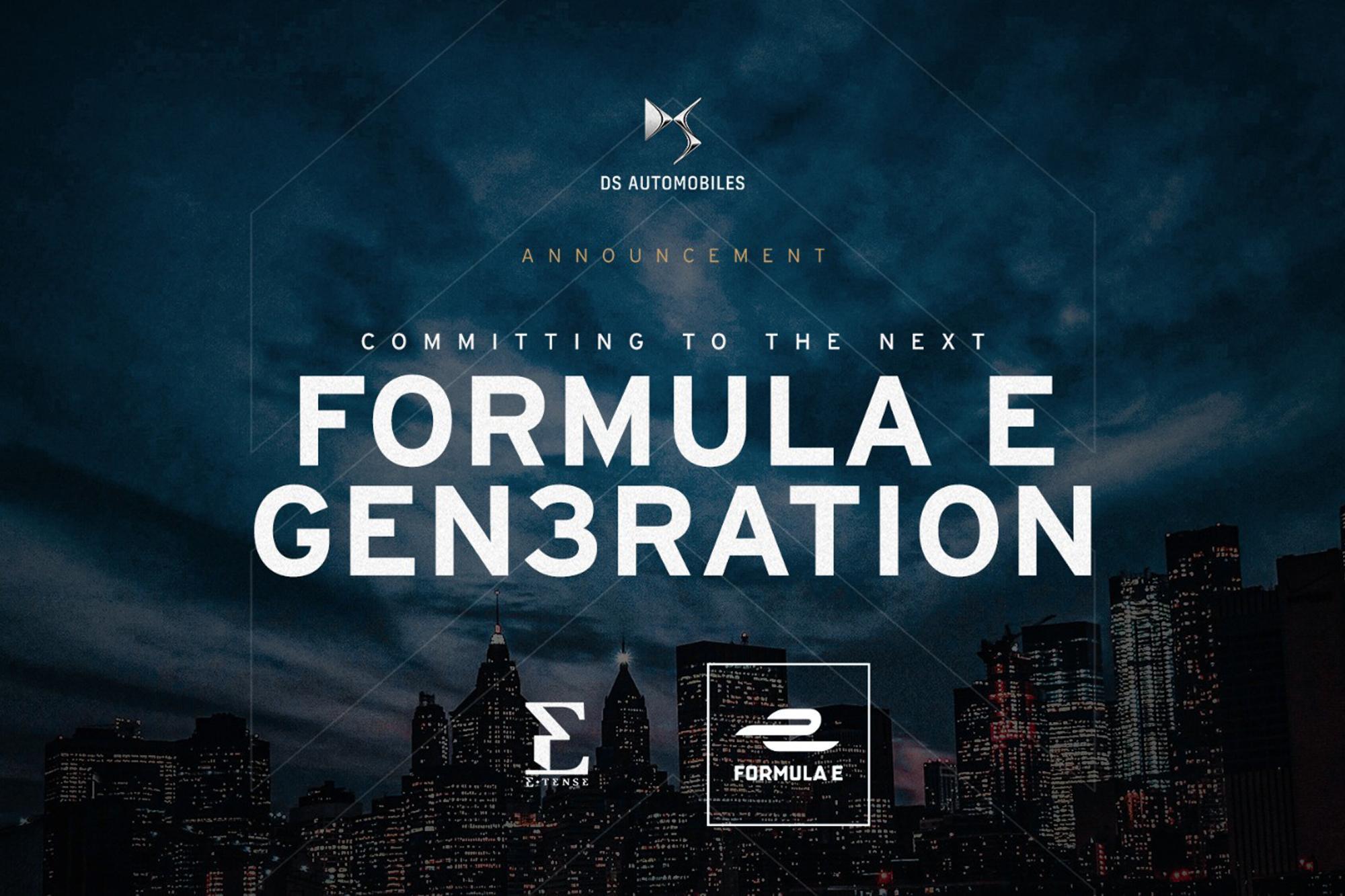 H DS Automobiles θα παραμείνει στην Formula E