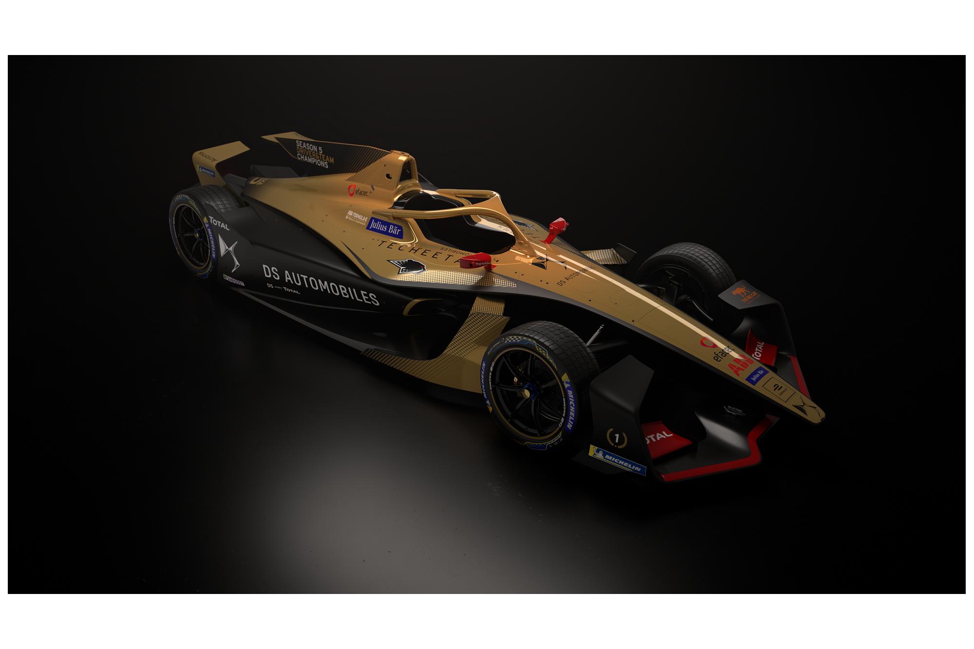 Το αγωνιστικό της DS Teechetah Formula E