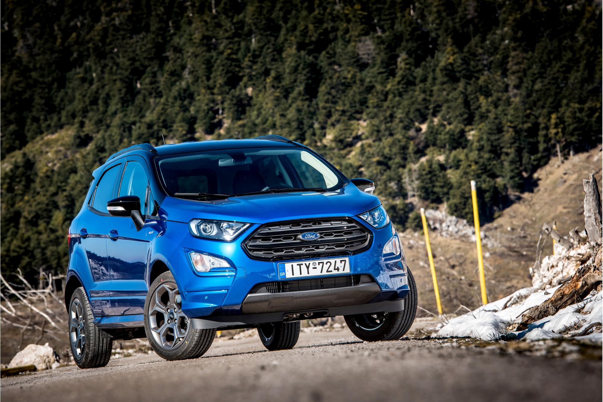 Παρουσίαση: Νέο Ford Ecosport ST-Line 1.0EcoBoost 140Ps
