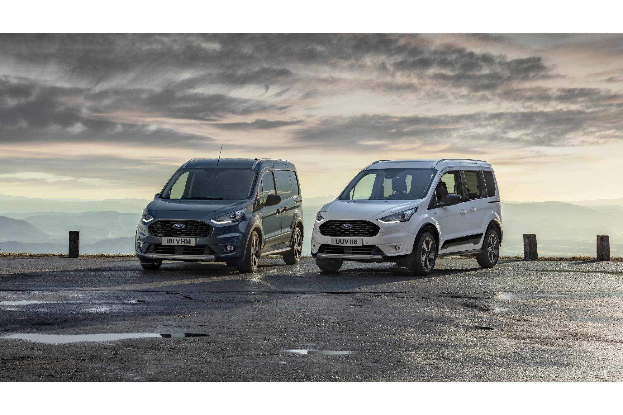Νέα Ford Tourneo και Transit Connect Active