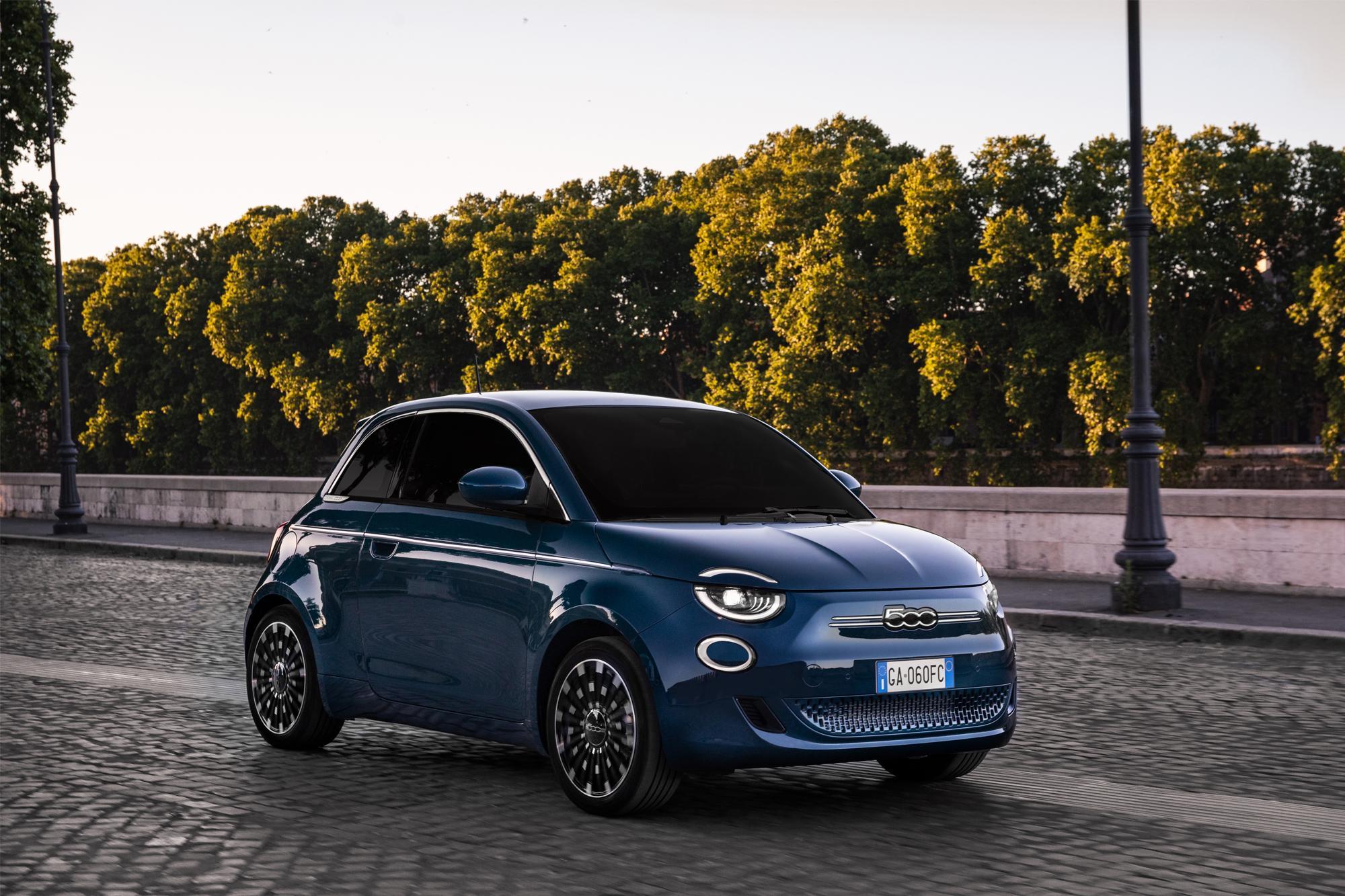 Fiat 500 e la Prima