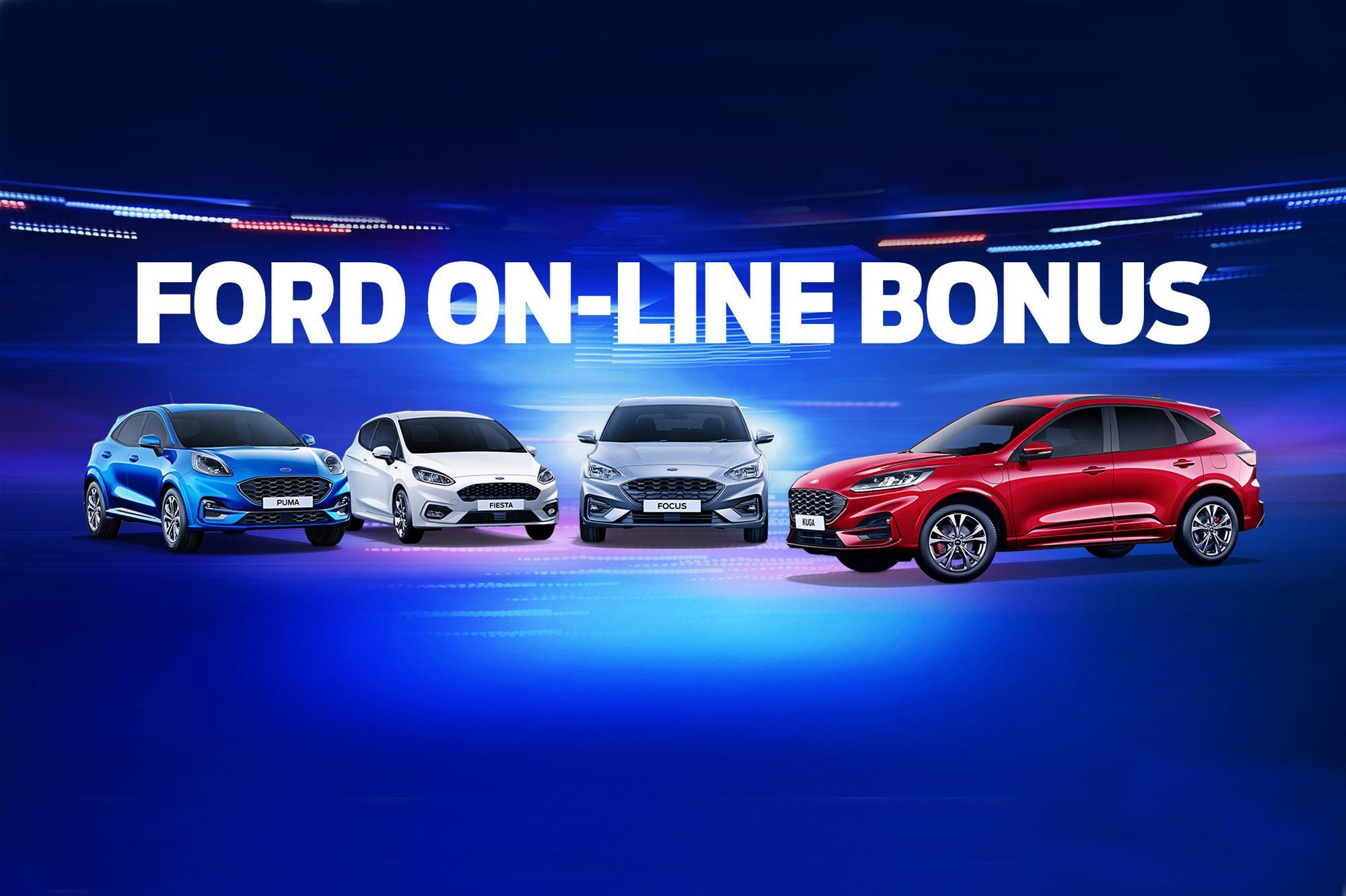 Ford online bonus