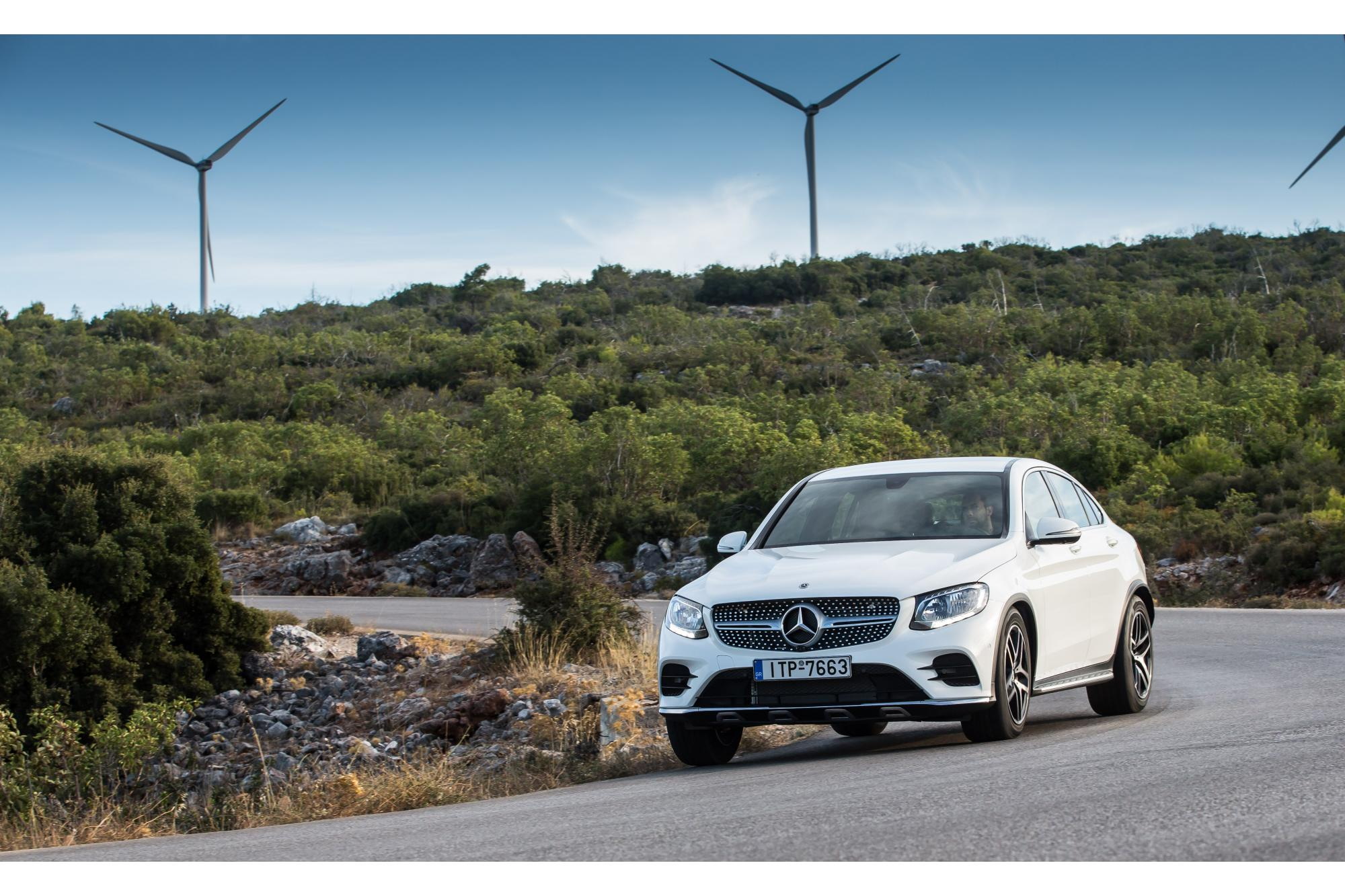 Mercedes-Benz GLC Coupe 250d 4MATIC 204PS