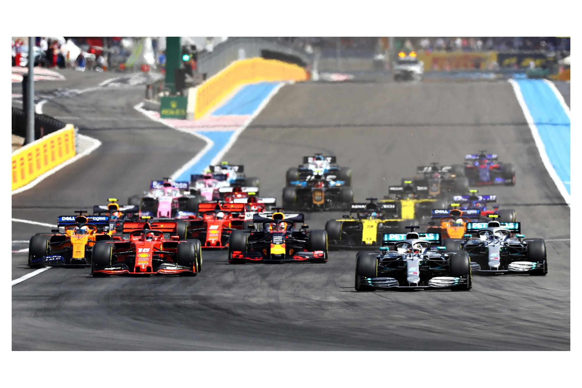 Το πιθανό πρόγραμμα του πρωταθλήματος F1