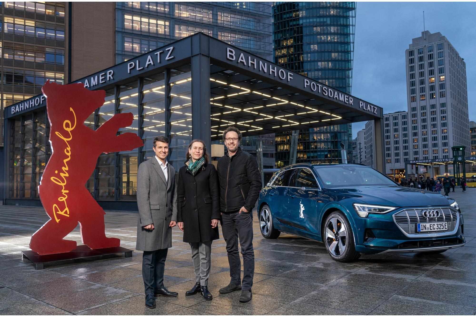 H Audi συμμετέχει «ηλεκτρικά» στην 70η Berlinale