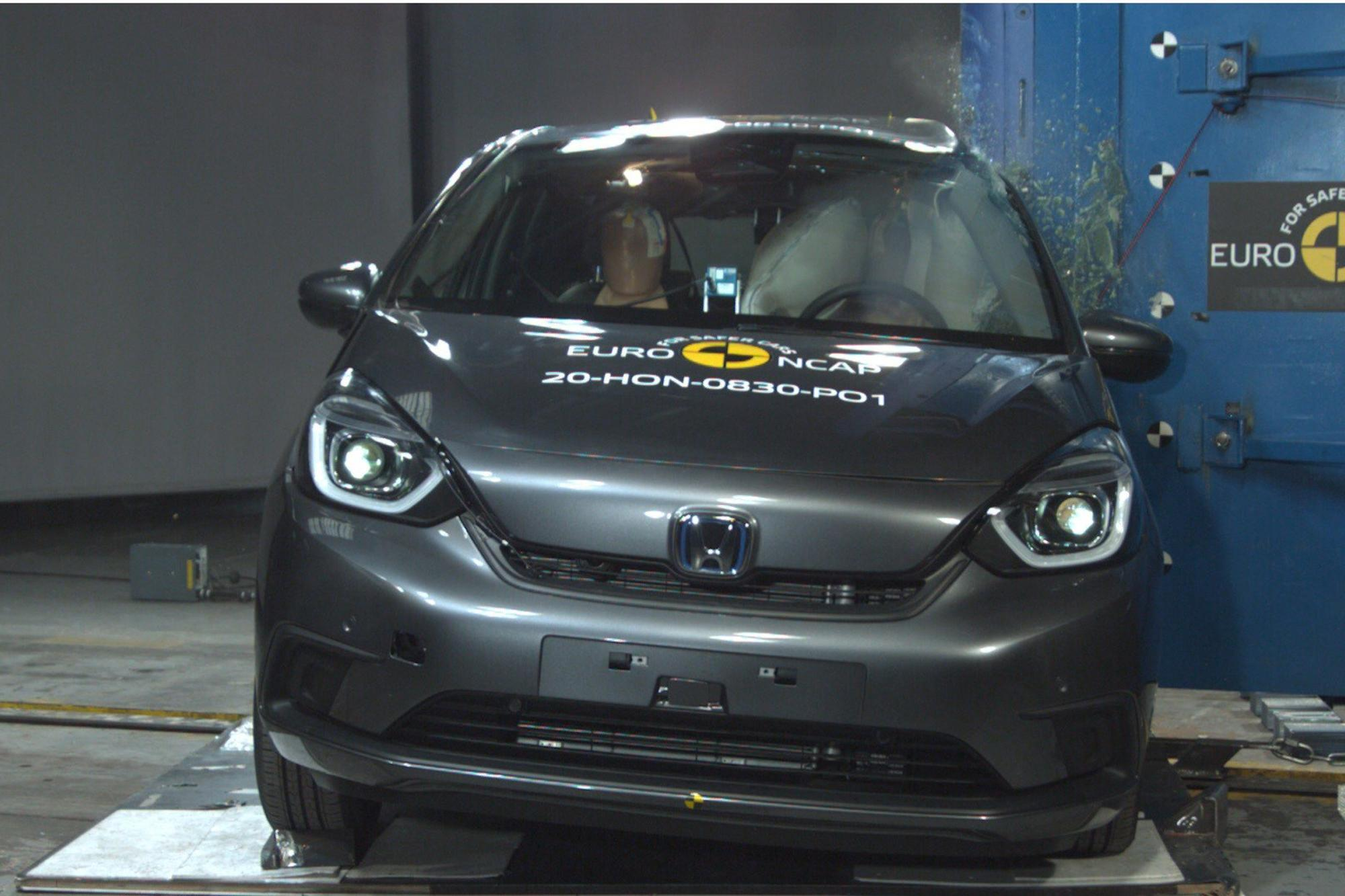 Πέντε αστέρια από τον NCAP για το νέο Honda Jazz e:HEV
