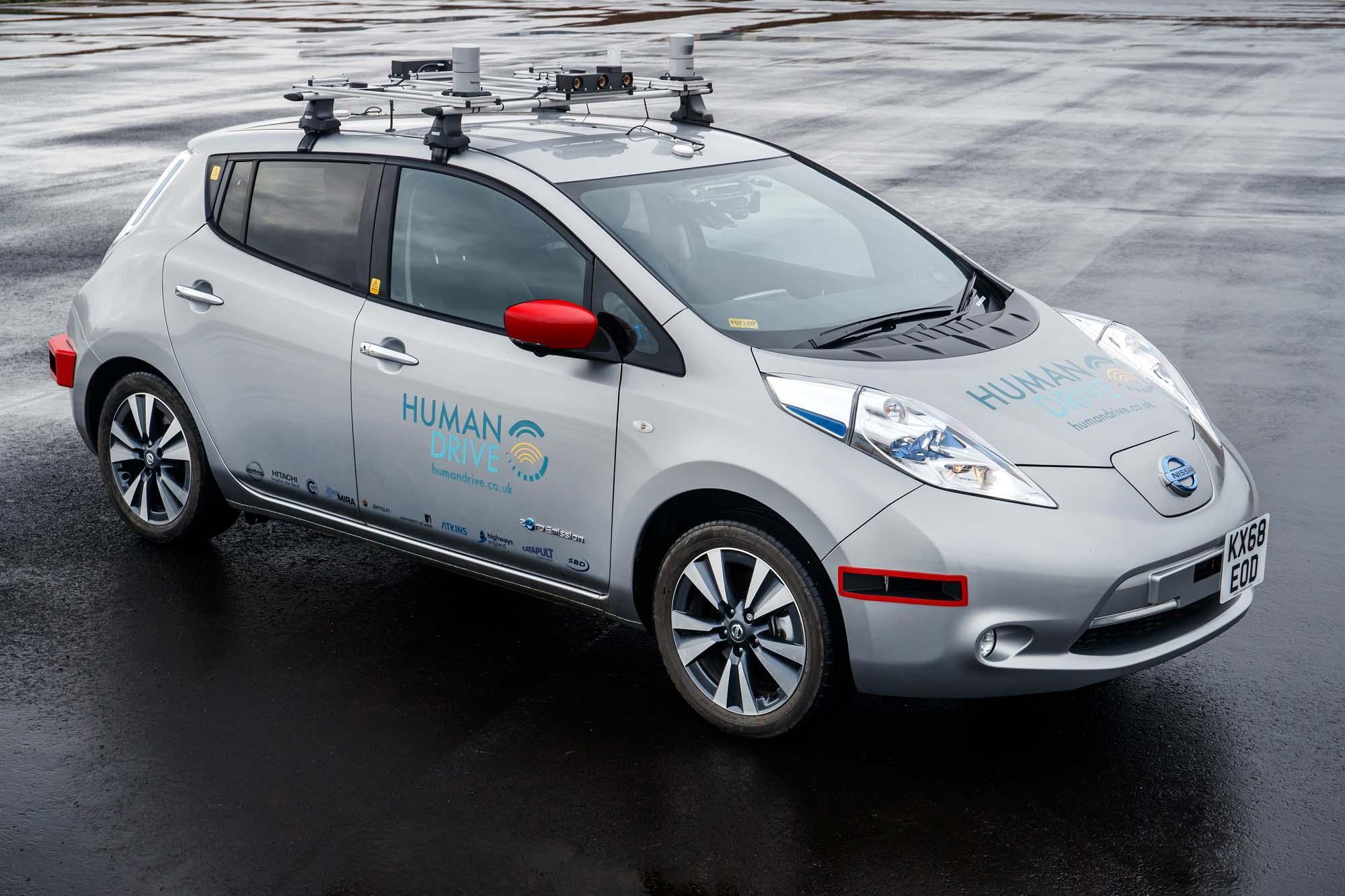 Αυτόνομη οδήγηση και Nissan Leaf!