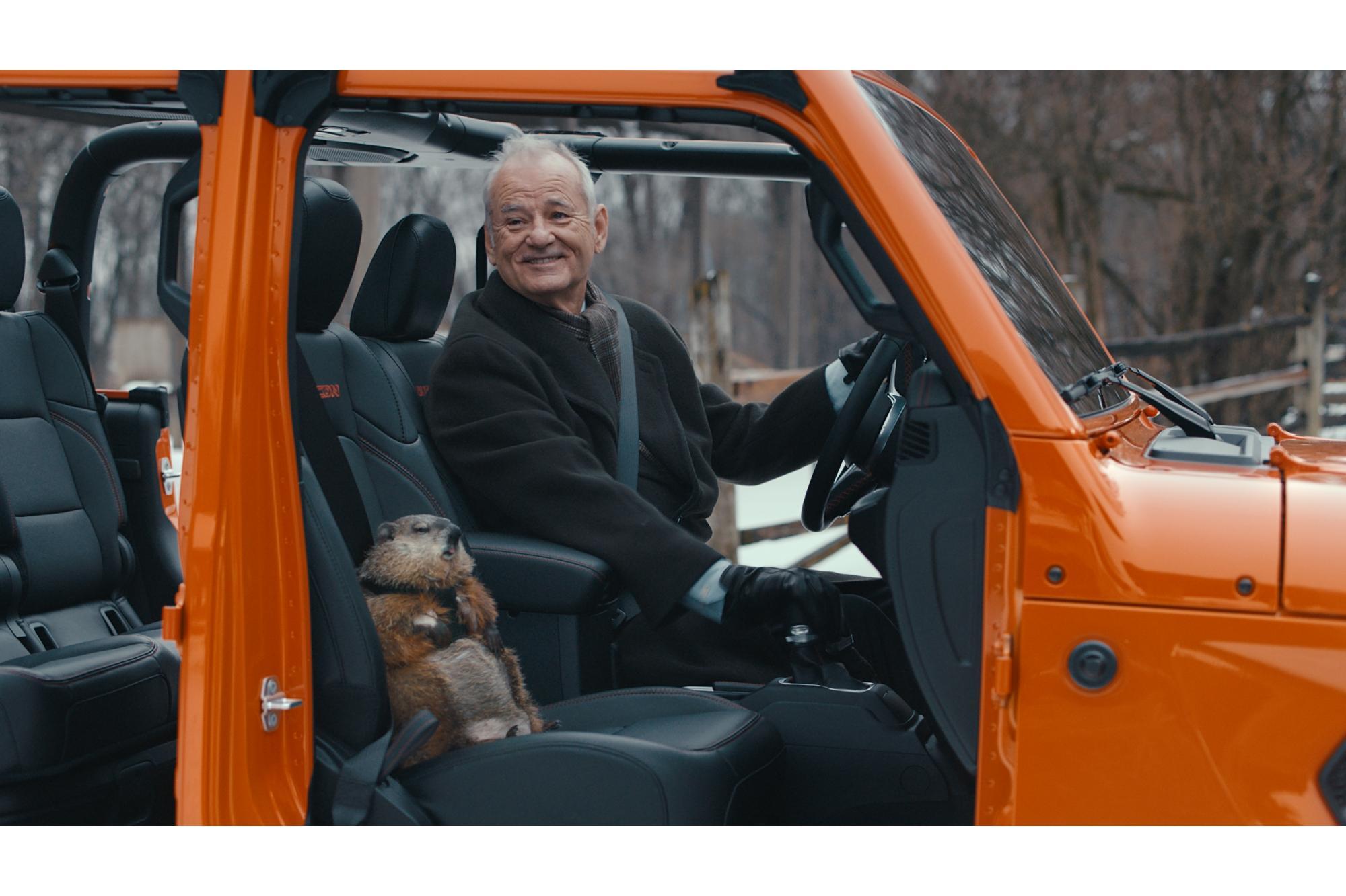«Η Μέρα της Μαρμότας» με το Jeep Gladiator ξεπερνά τα 104 εκατομμύρια views!