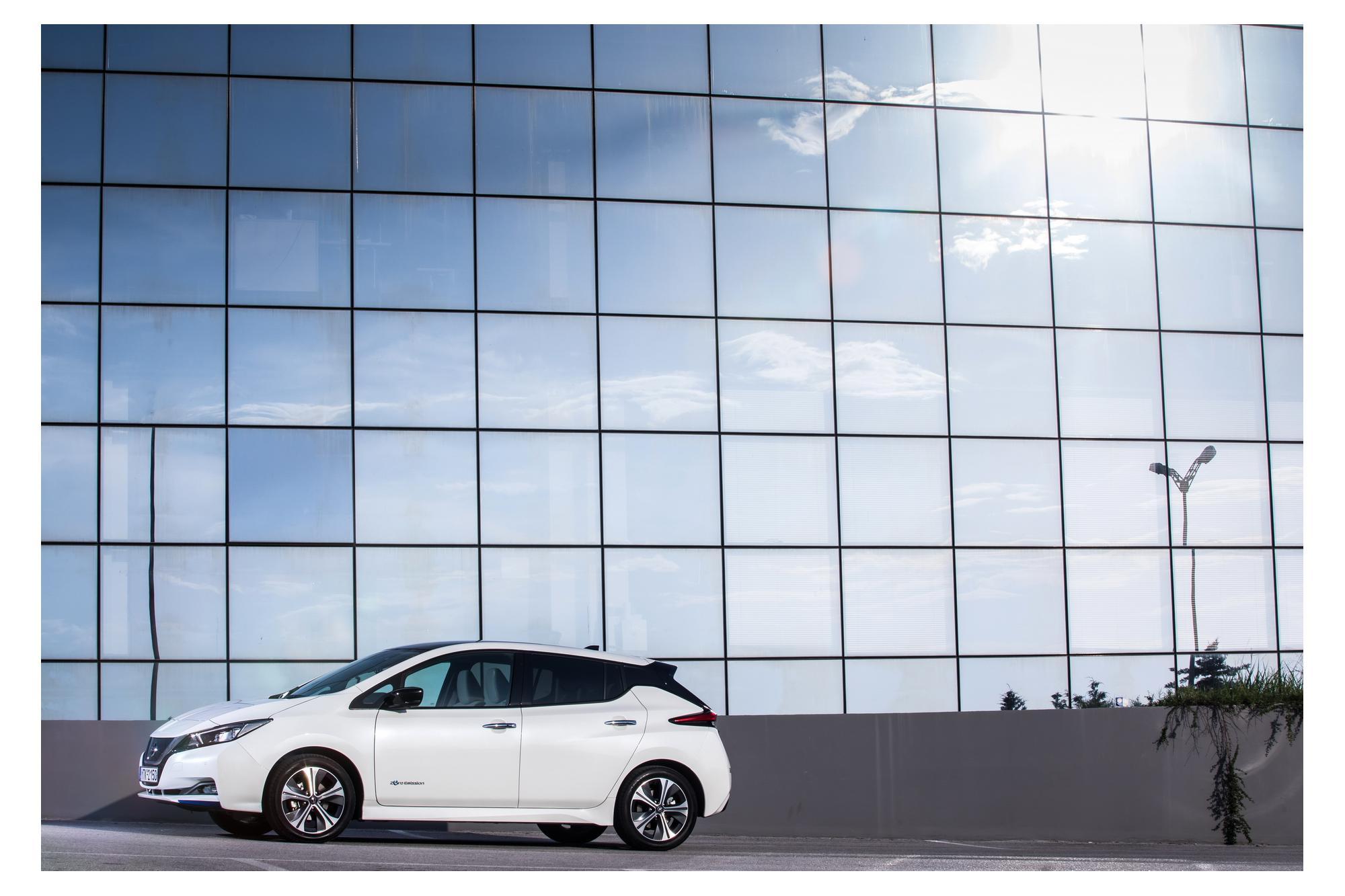 Nissan Leaf για την περιφέρεια Θεσσαλίας