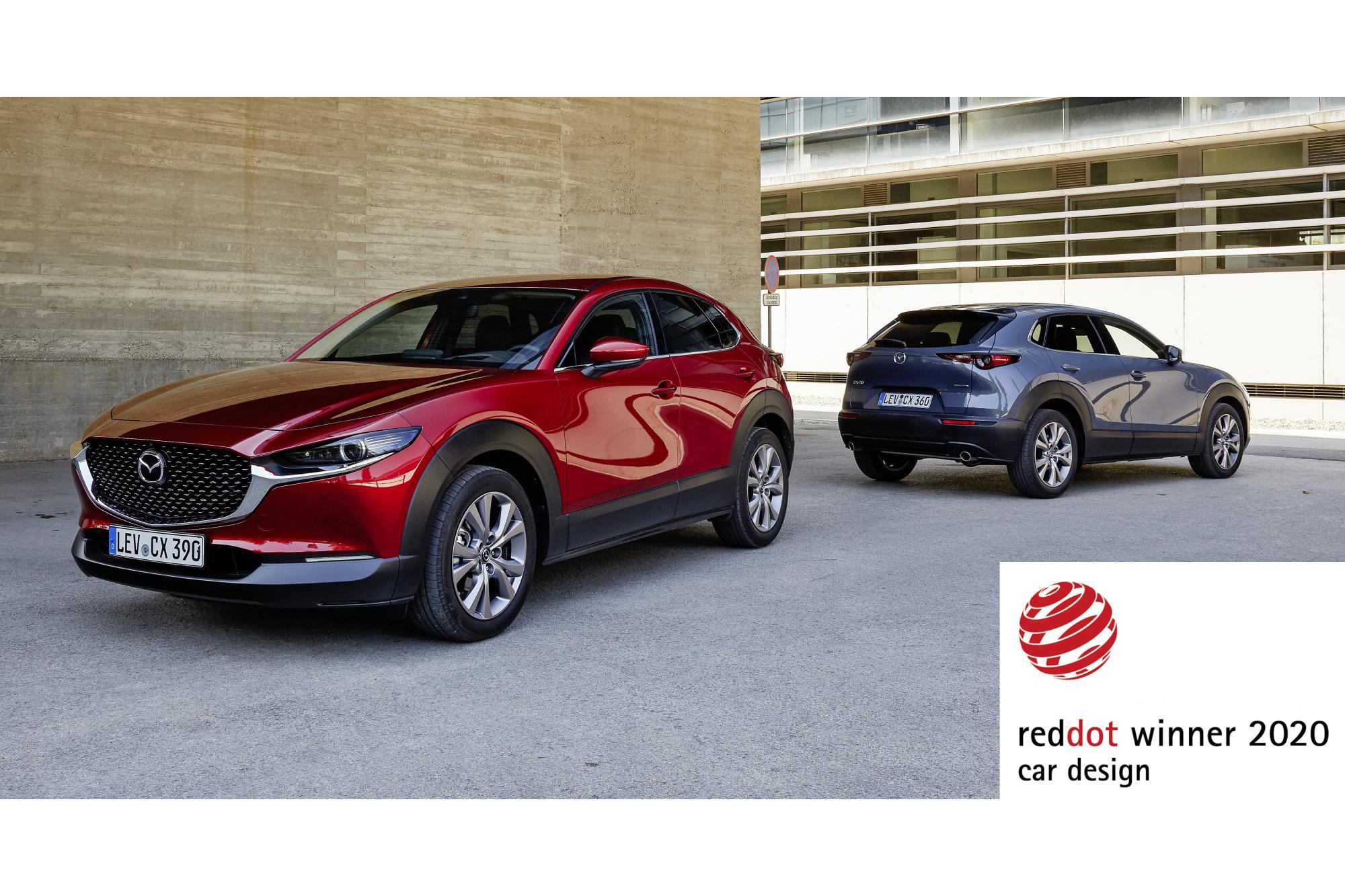 Τα νέα Mazda CX-30 και MX-30 κατακτούν το βραβείο Red Dot design για το 2020