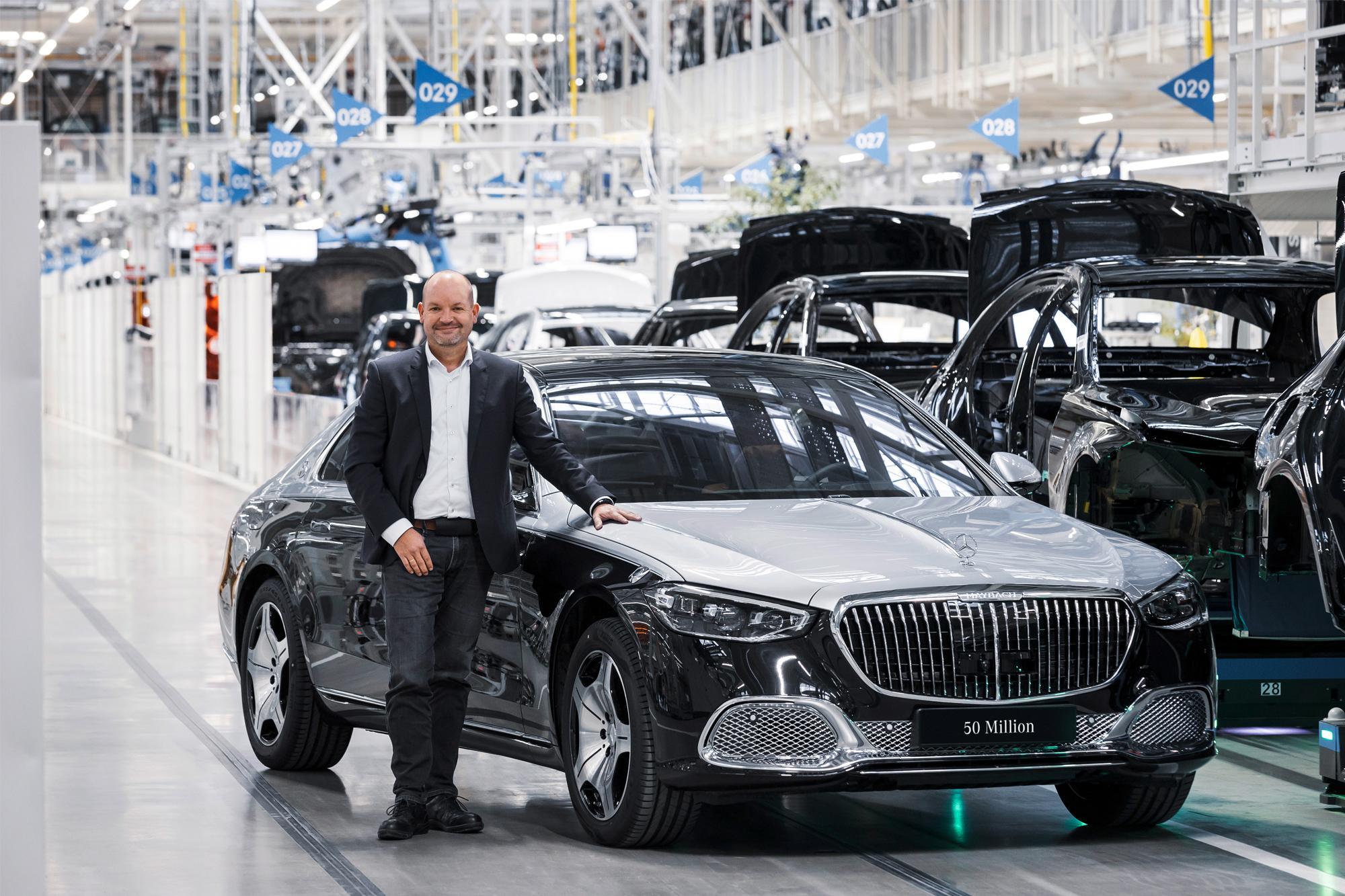 50 εκατομμύρια επιβατικά Mercedes-Benz!
