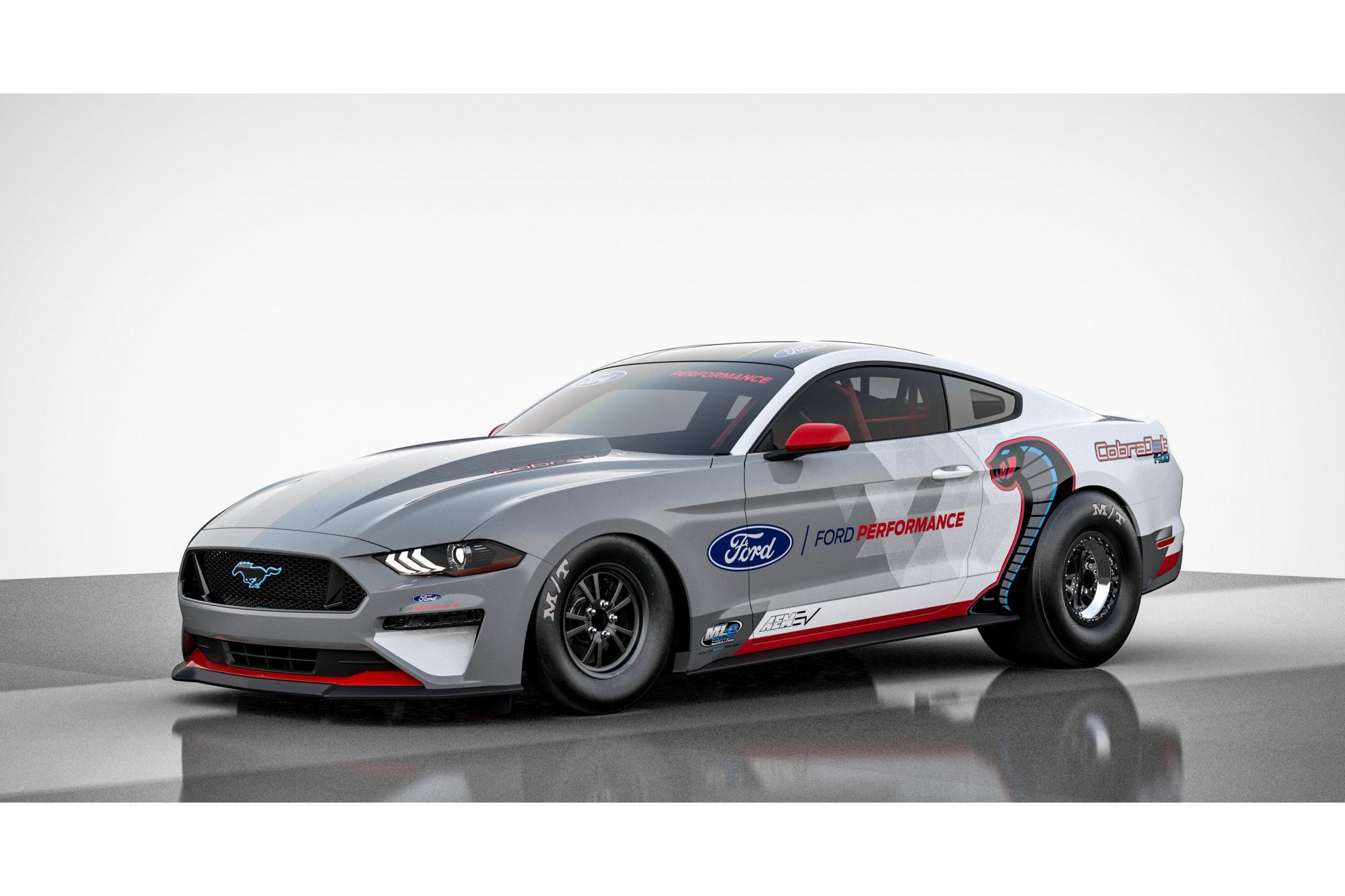 Ford Mustang  Cobra jet, έτοιμη για τα 400 μέτρα!