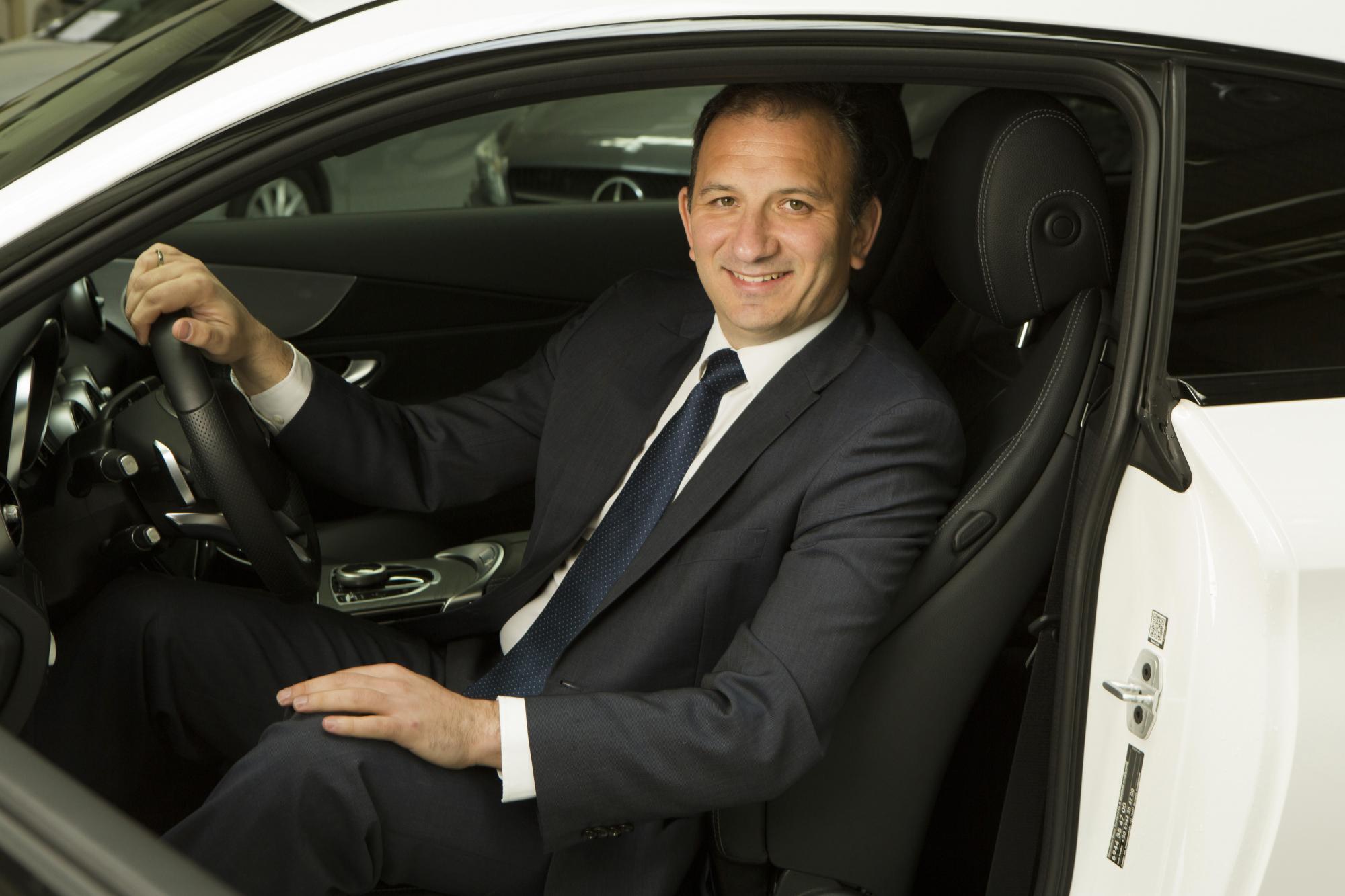 Αποχώρηση του Γενικού Διευθυντή Επιβατηγών Αυτοκινήτων της Mercedes-Benz Ελλάς