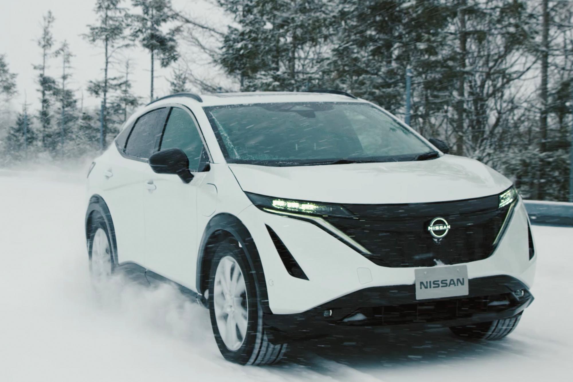 Η Nissan συνεχίζει τις δοκιμές του Ariya
