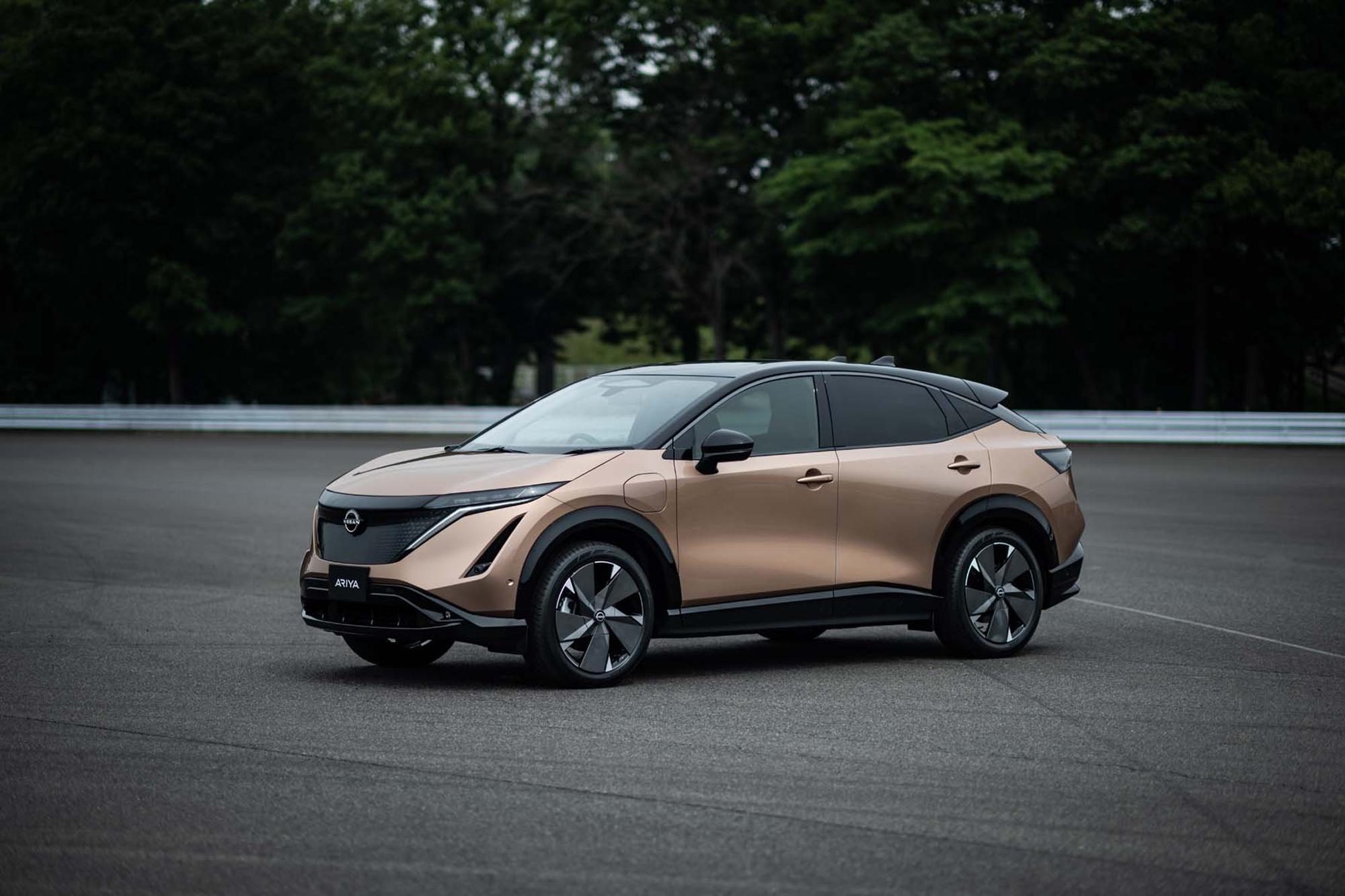 Οι πρώτες οδηγικές δοκιμές του Nissan Ariya στην Ιαπωνία