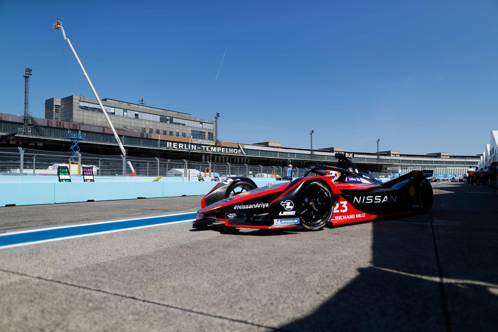 Η Nissan e.dams σημειώνει την πρώτη νίκη της στους τελικούς αγώνες της Formula E, στο Βερολίνο