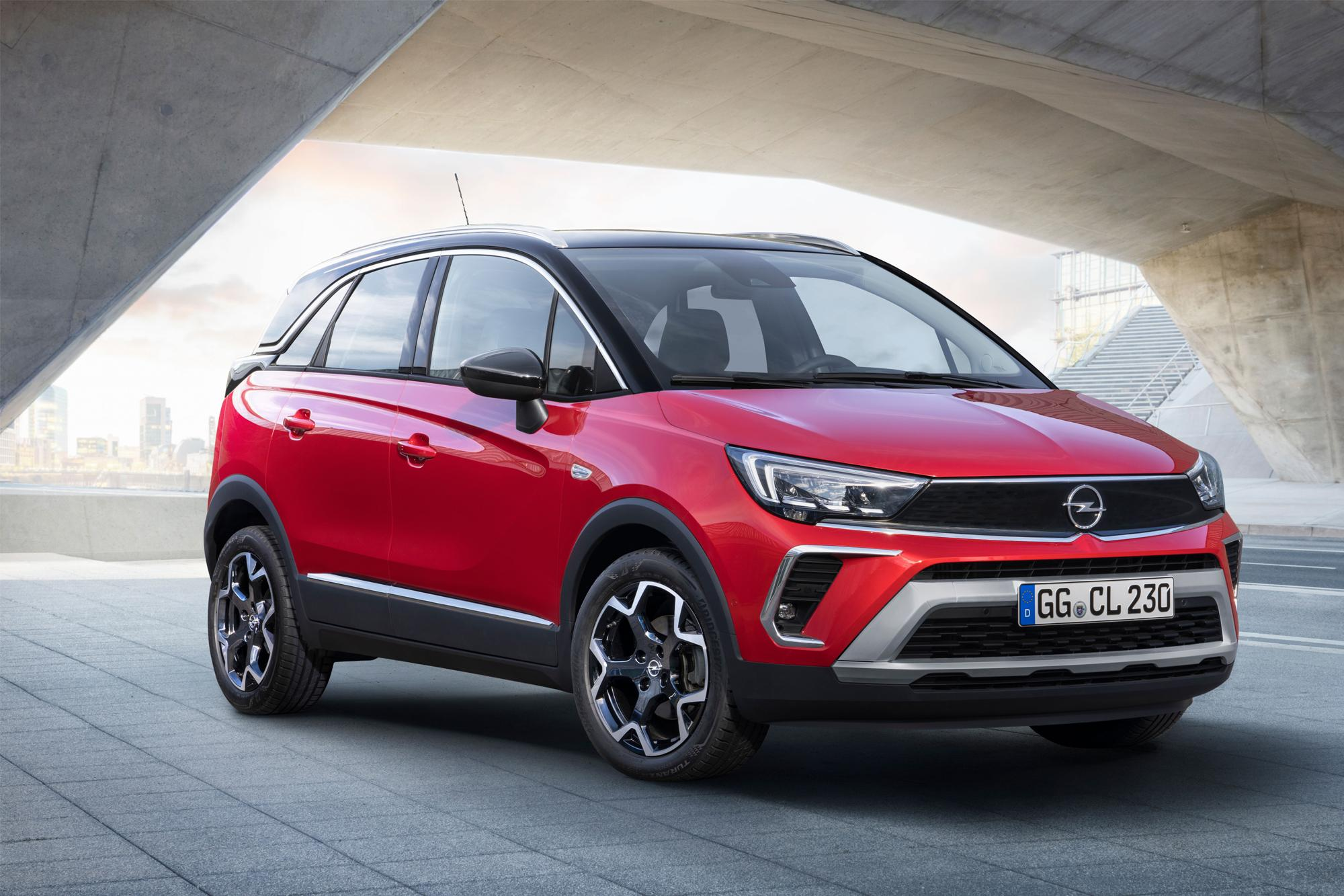 Το νέο Opel Crossland έρχεται στις αρχές του 2021