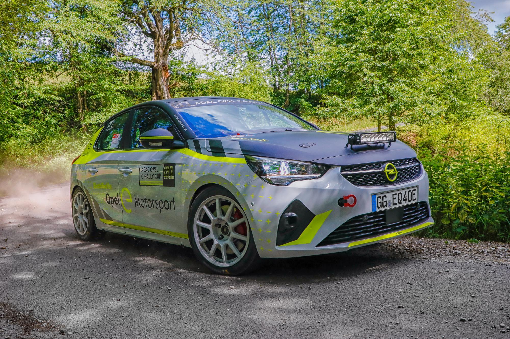 Νέο Ημερολόγιο για το ADAC Opel e-Rally Cup