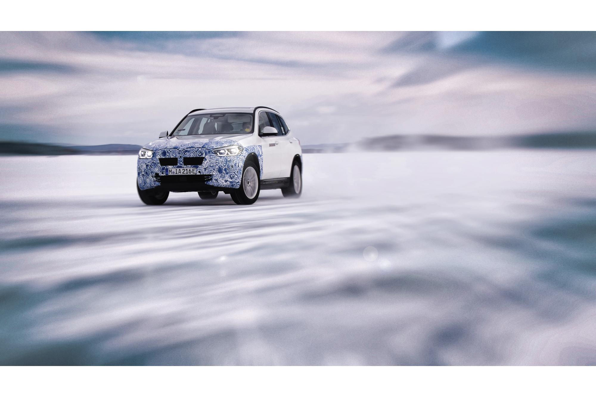 Το αποδοτικό σύστημα κίνησης του αμιγώς ηλεκτρικού BMW iX3.
