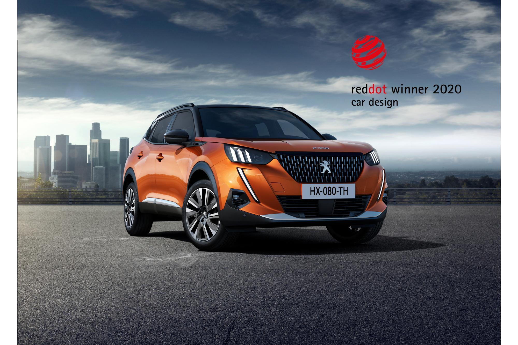 Βραβείο Red Dot 2020 για τα νέα Peugeot 208 και 2008