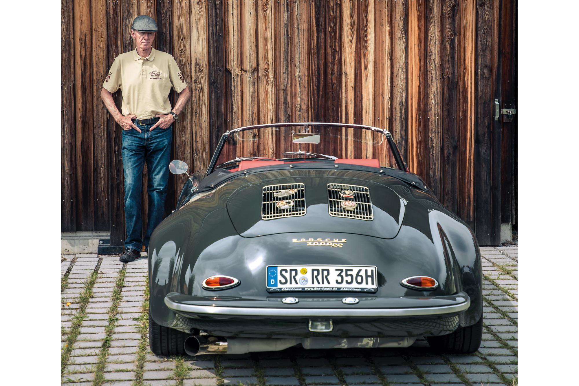 Μια μοναδική Porsche 356