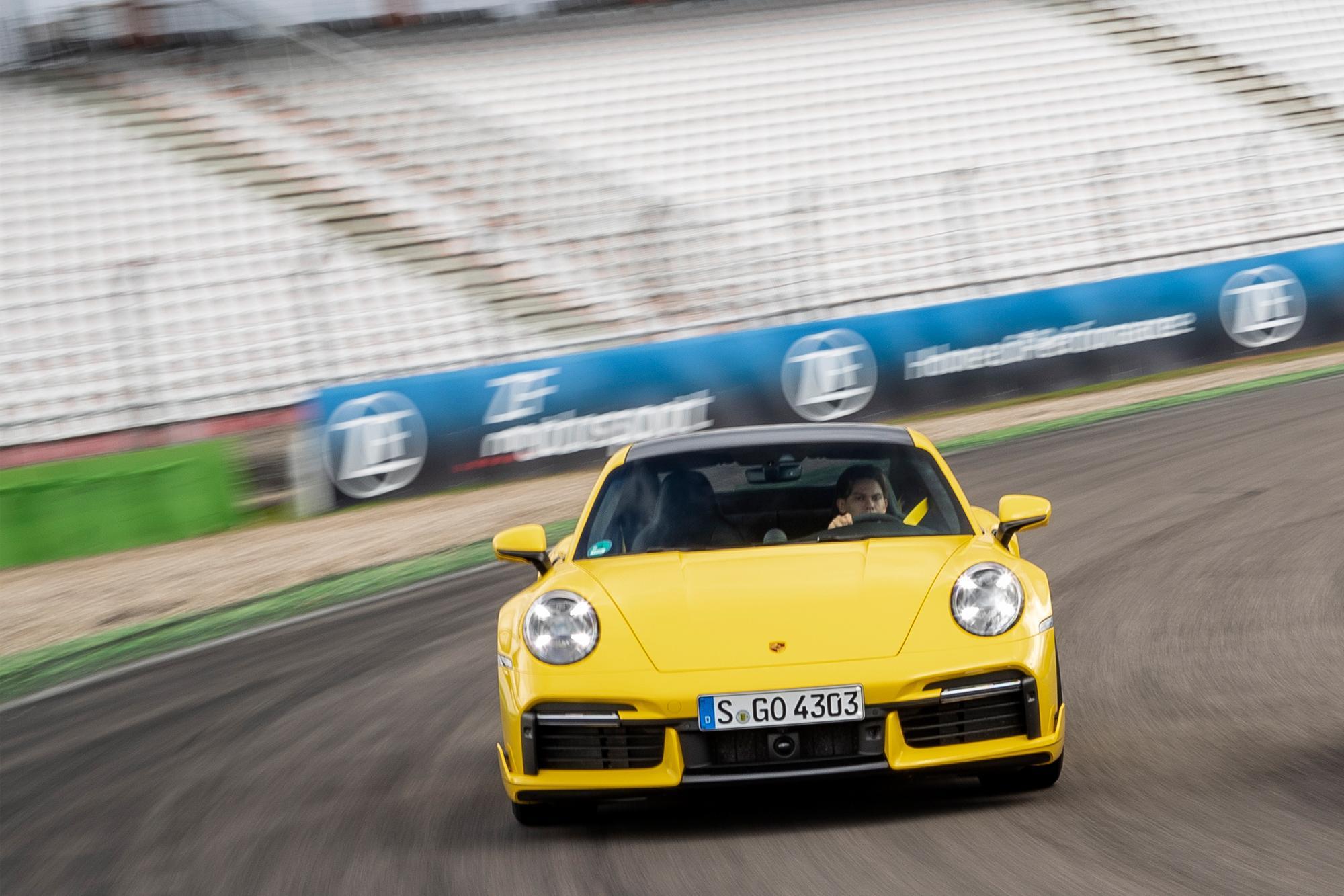 Η νέα Porsche 911 Turbo στο Hockenheim