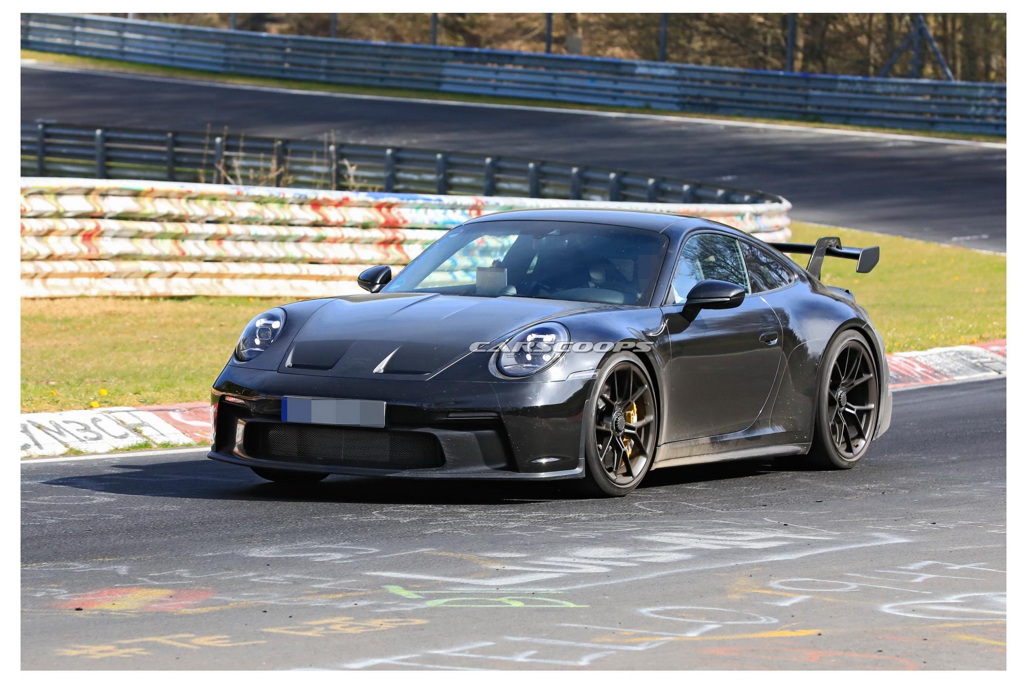 Νέες κατασκοπευτικές φωτογραφίες της 911 GT3!