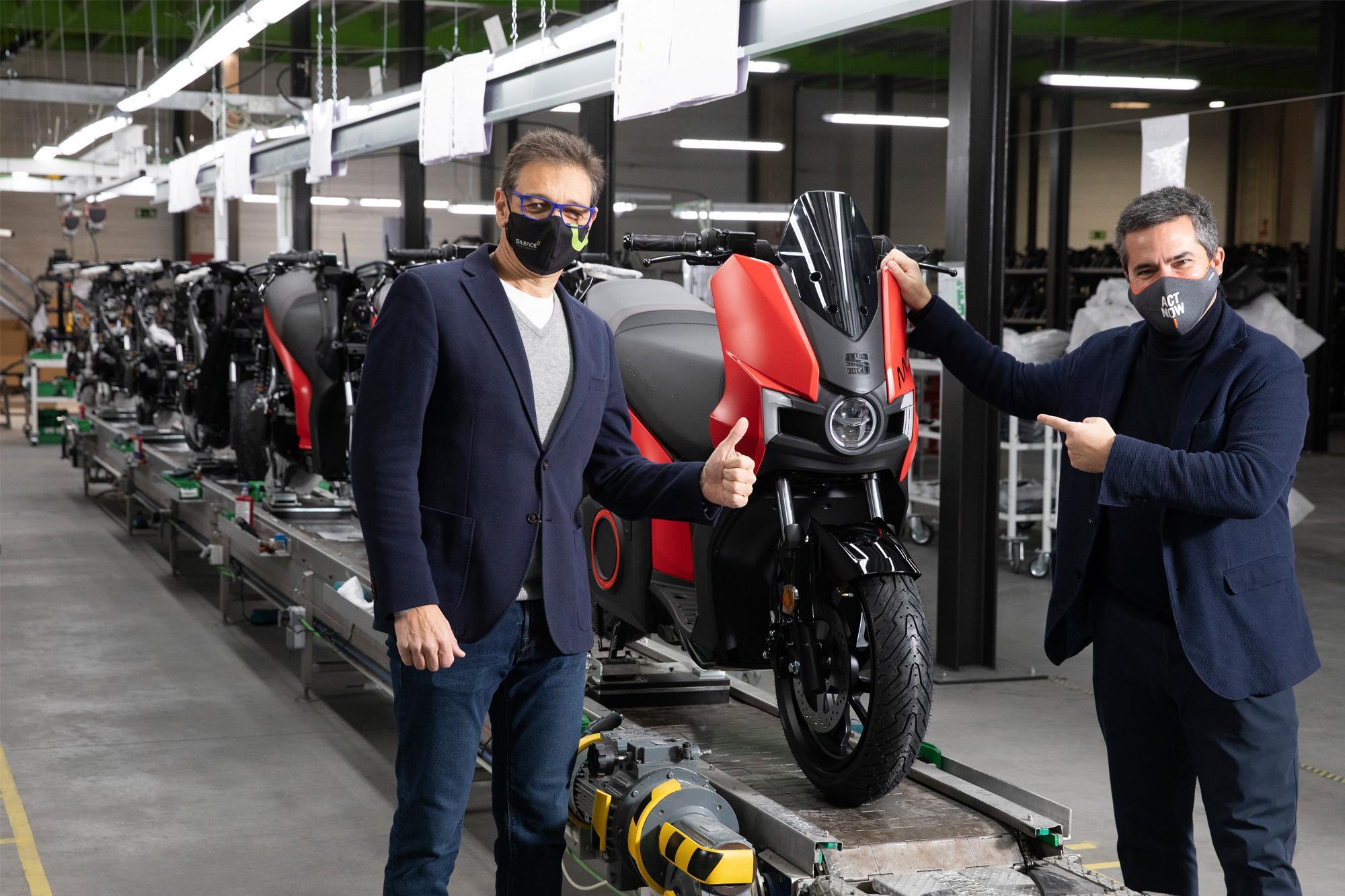 Ξεκινάει η παραγωγή του ηλεκτρικού SEAT MÓ eScooter 125