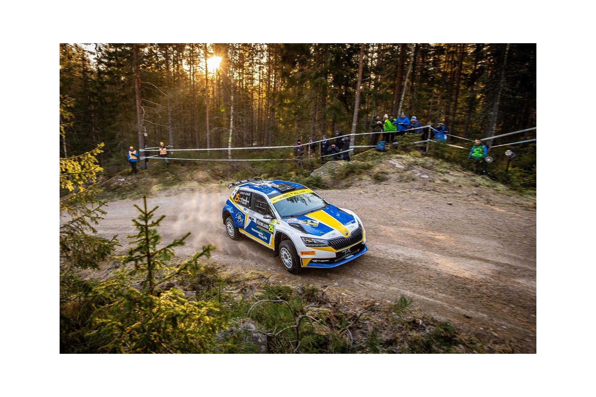Rally Σουηδίας και Skoda