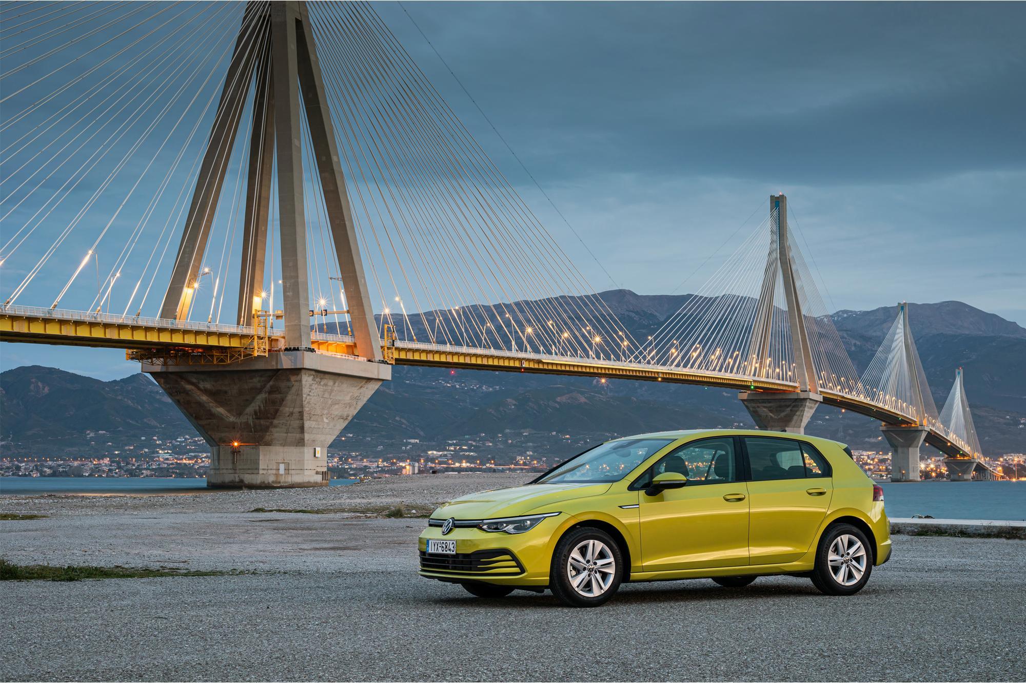 Πρώτη δοκιμή του νέου VW Golf στην Ελλάδα