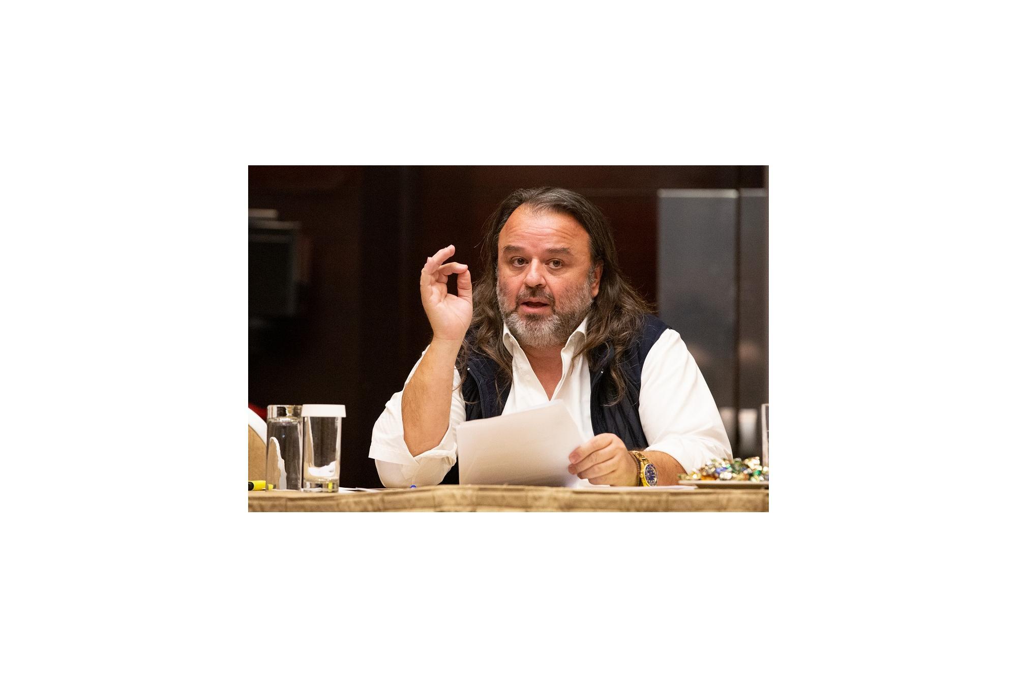 Μάριος Ηλιόπουλος, υποψήφιος πρόεδρος Ο.Μ.Α.Ε.